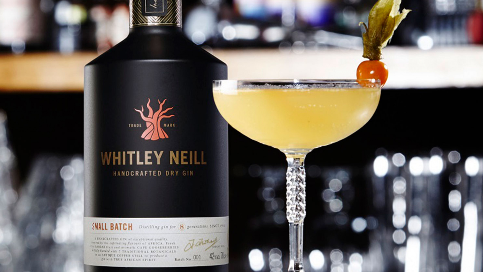 Whitley Neil's Cape 75 cocktail