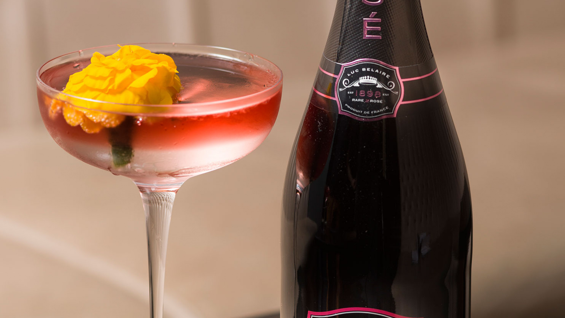 A recipe for Belaire's Twinkle cocktail