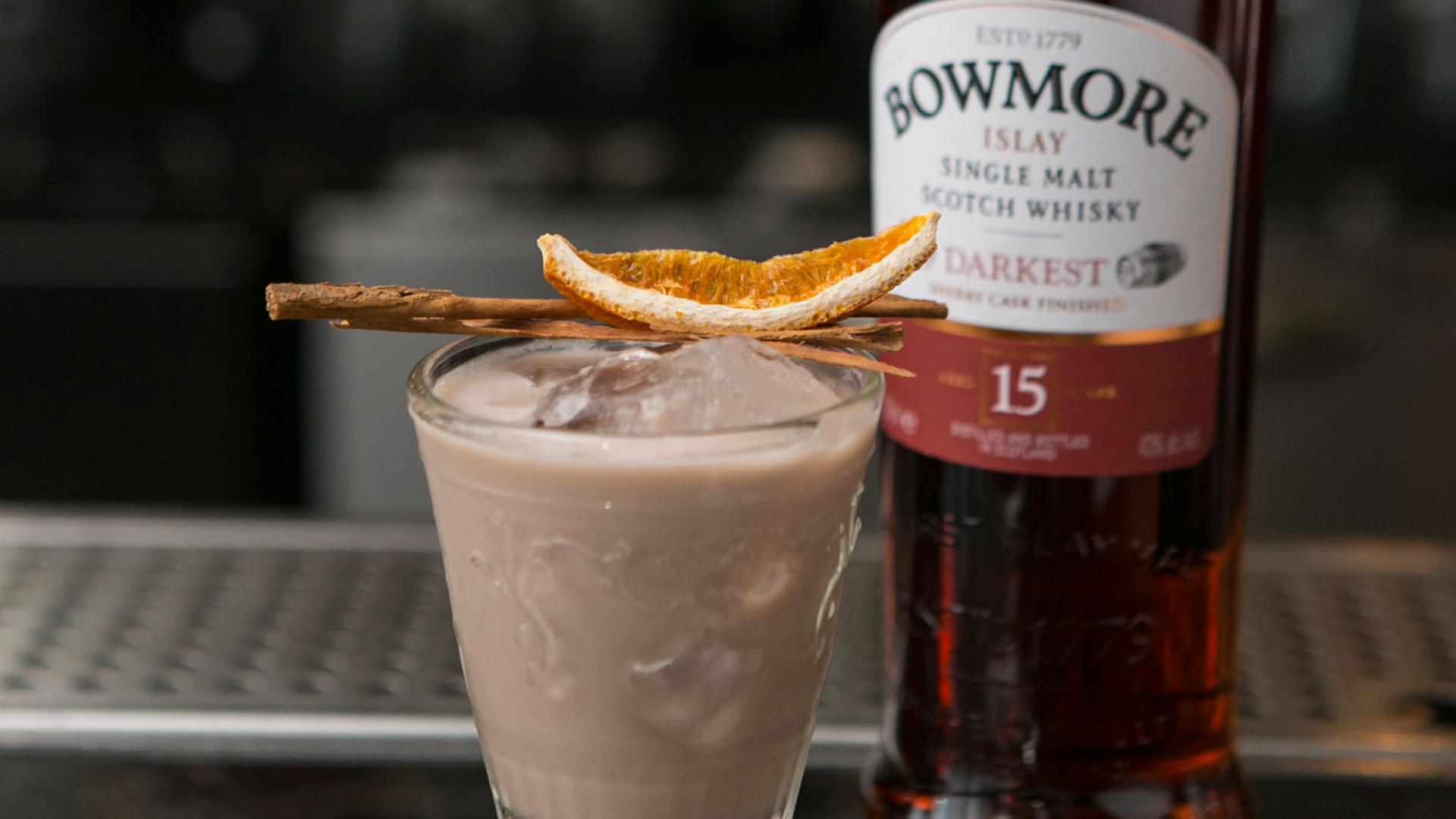 Galvin At Windows Hot Chocolate using Bowmore Darkest