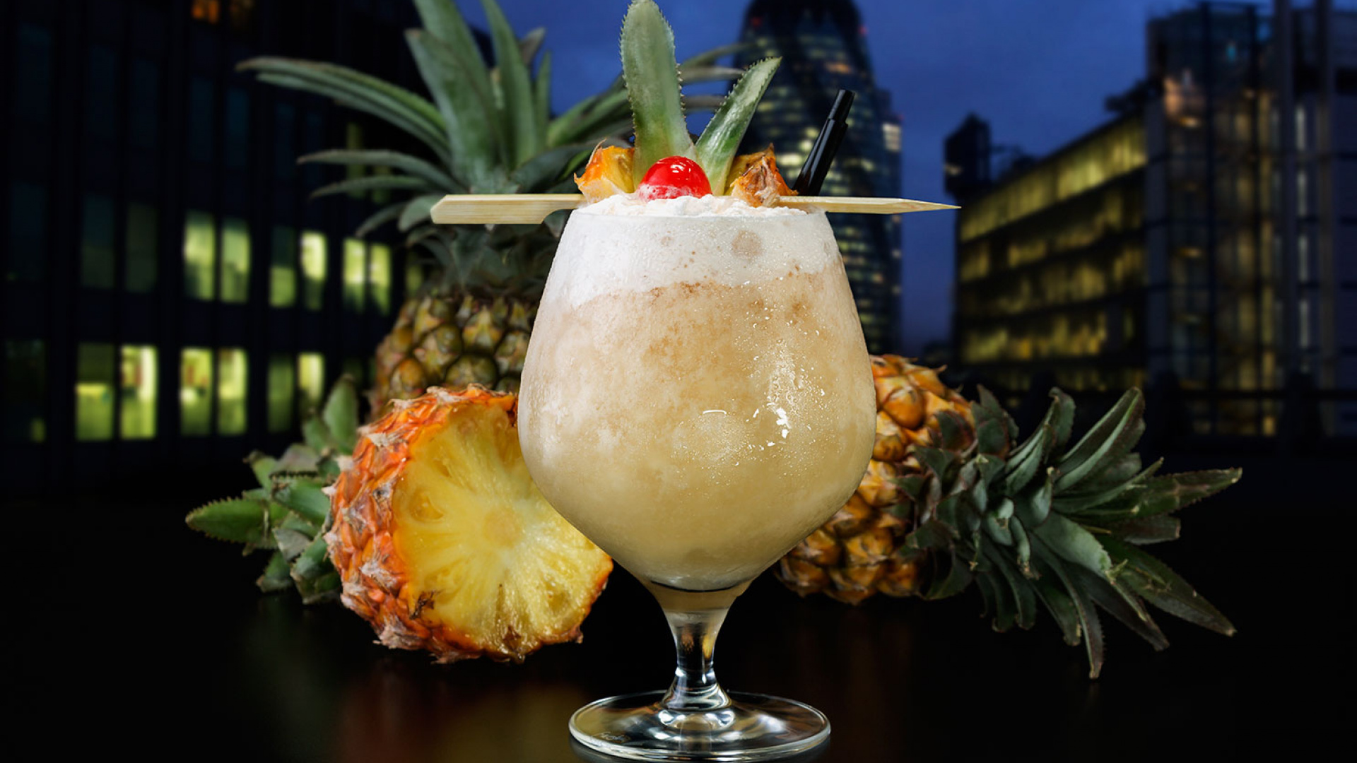 Skylounge's tequila colada
