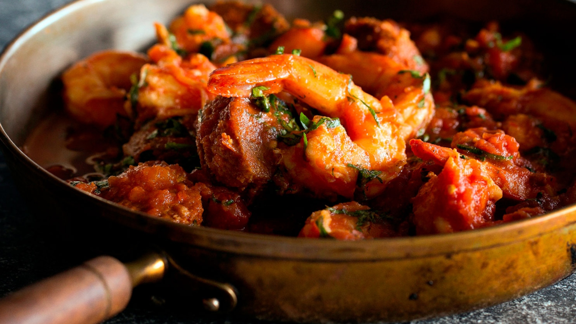 Mark Sargeant's king prawn and chorizo