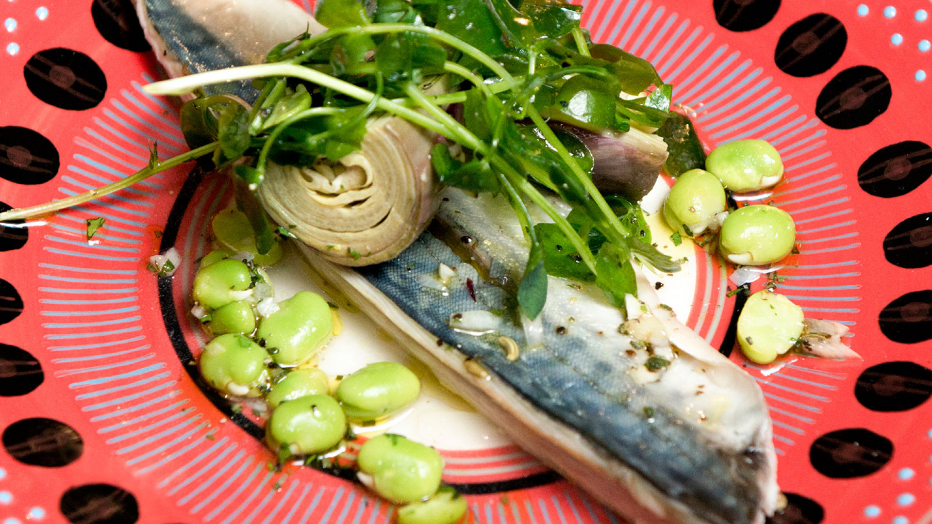 Pescatori's recipe for curing mackerel