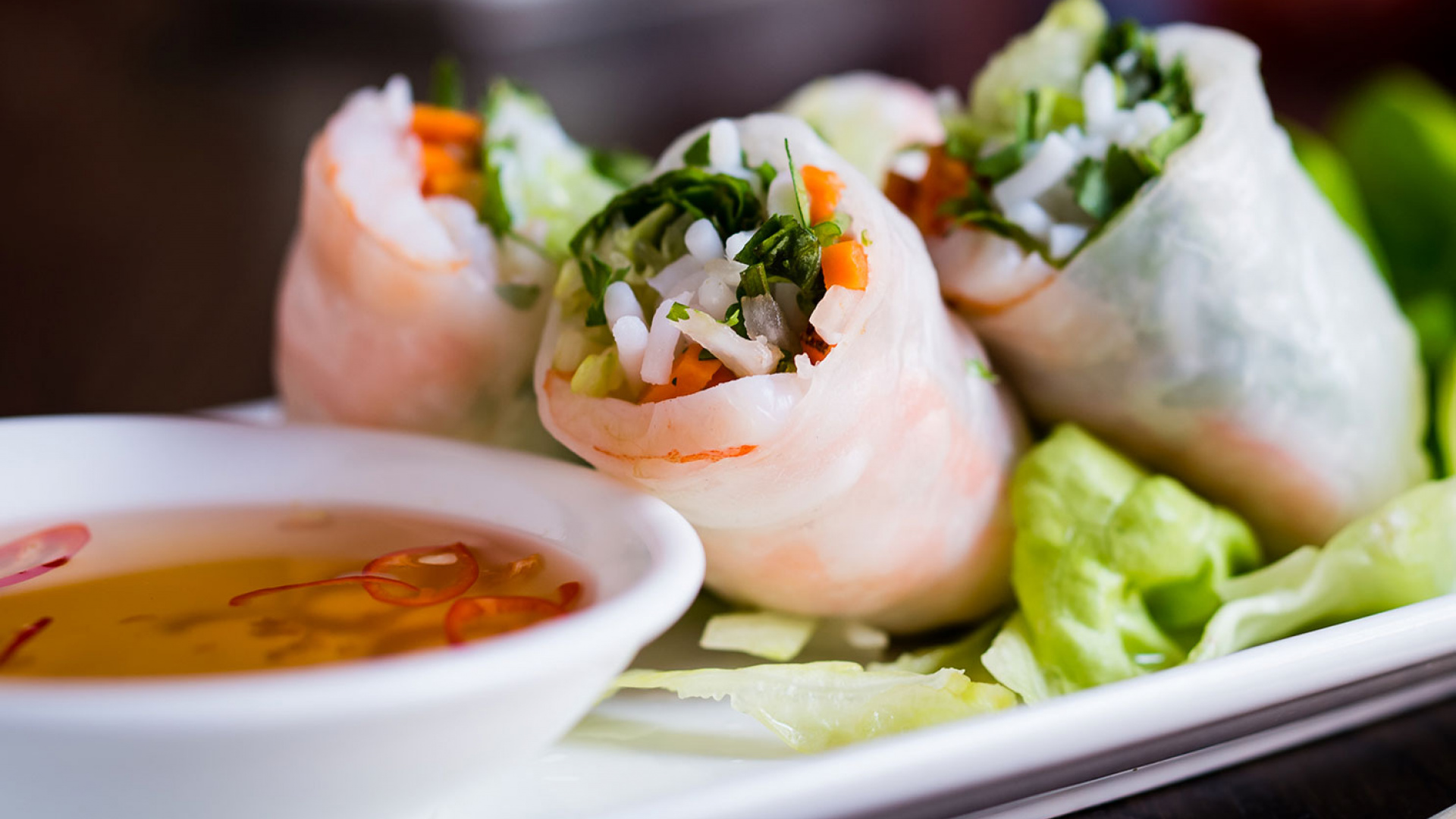 Pho's recipe for summer rolls