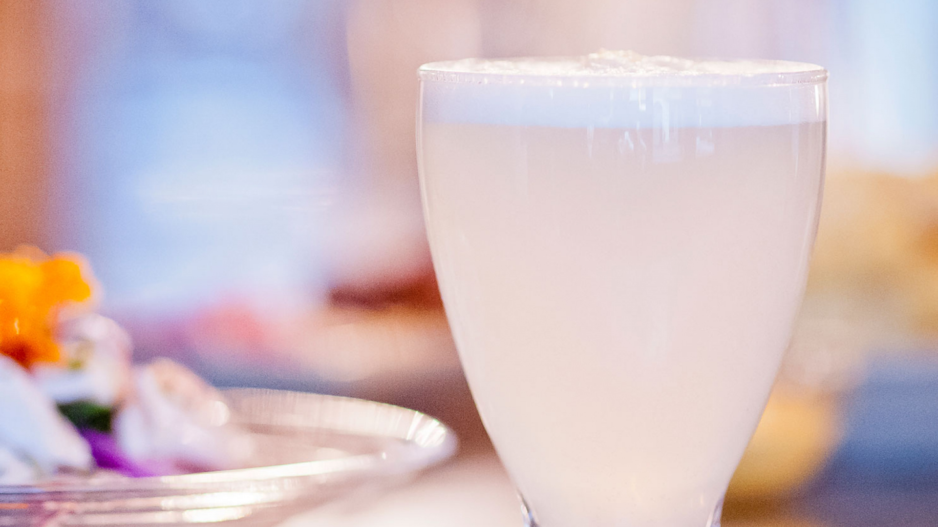 Ceviche's pisco sour recipe
