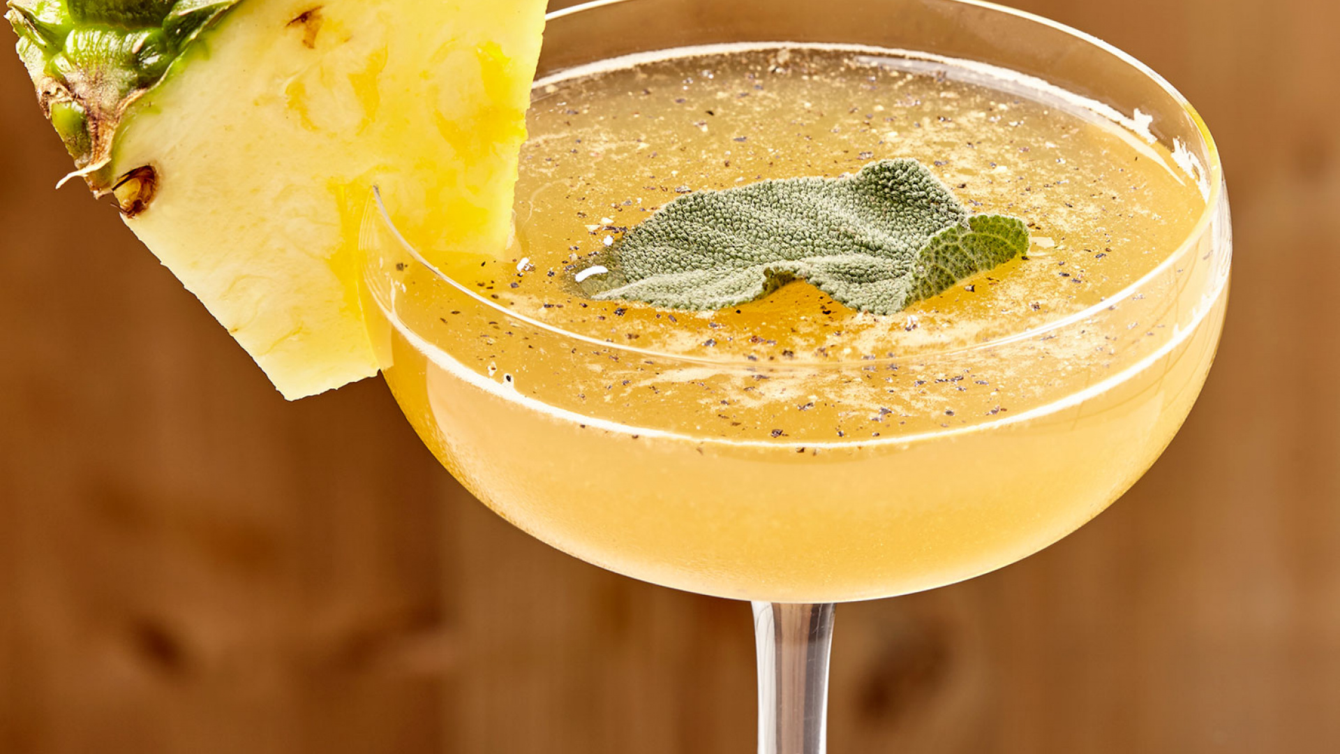 The Natural Philosopher's smoked pineapple and sage cocktail