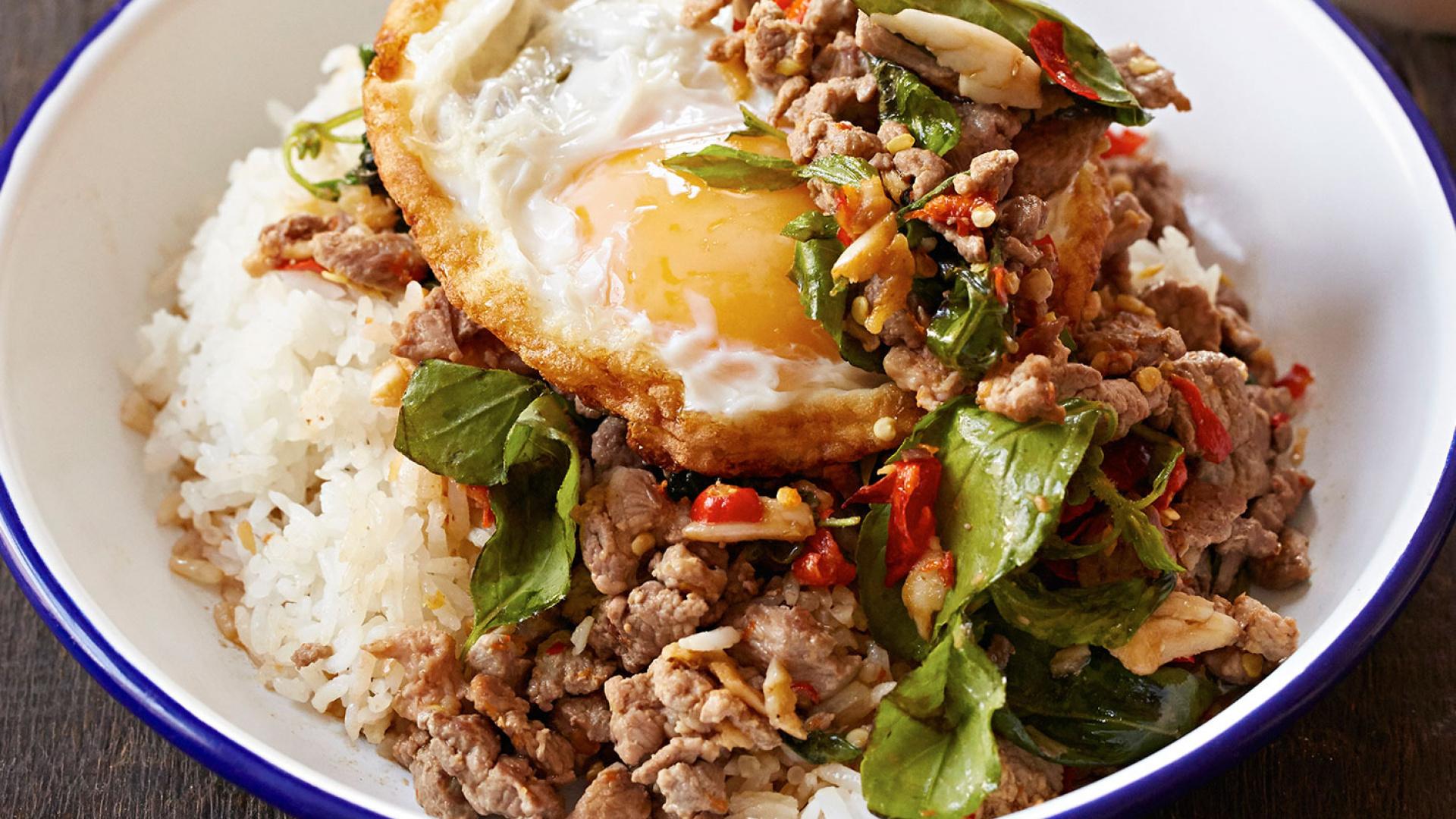 A dish at Som Saa