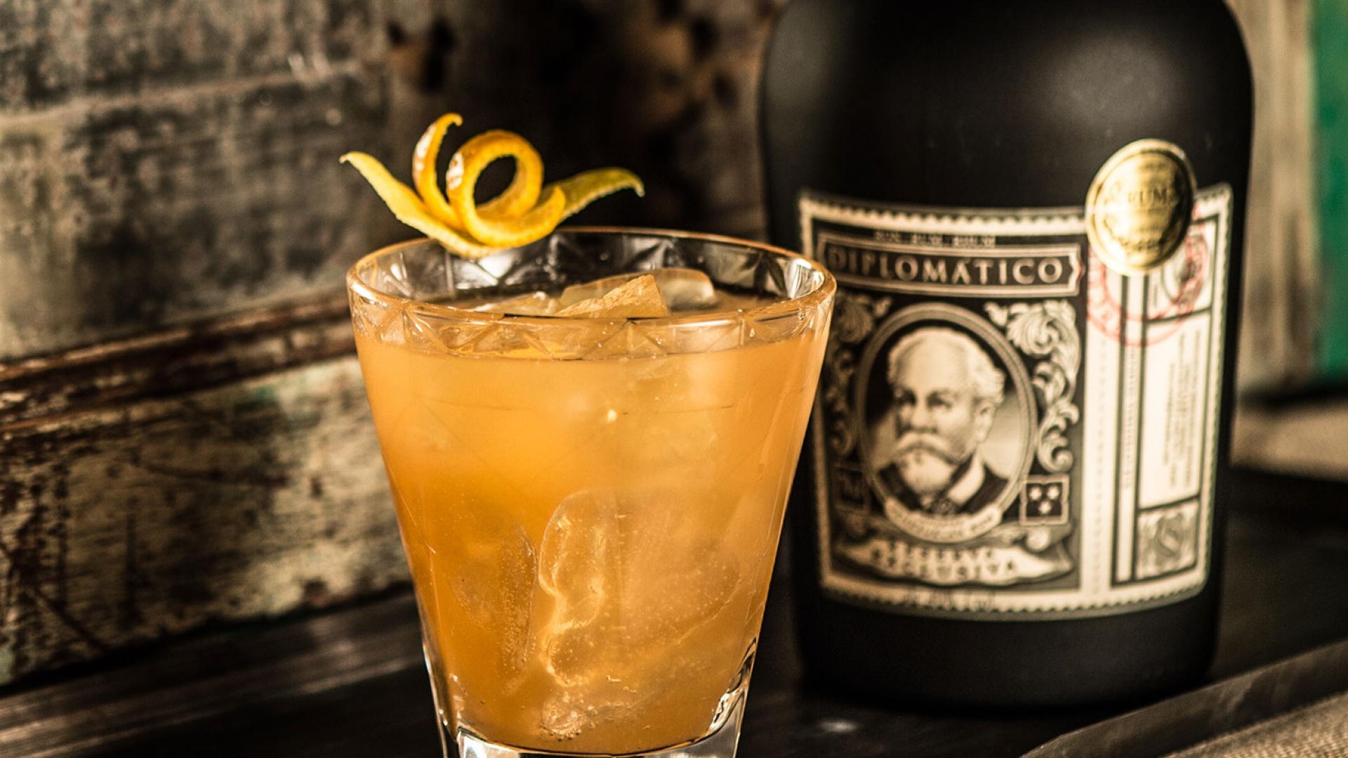 Diplomatico's Ensemble cocktail