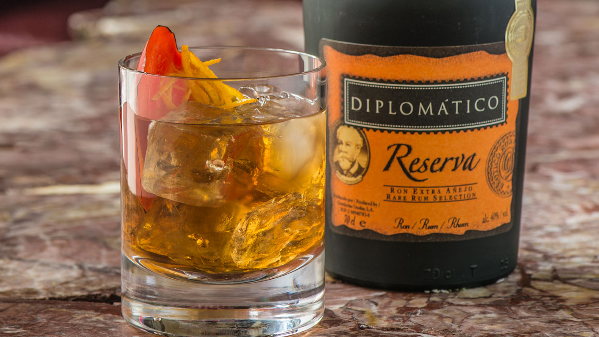 Diplomatico's sweet charred of mine cocktail recipe
