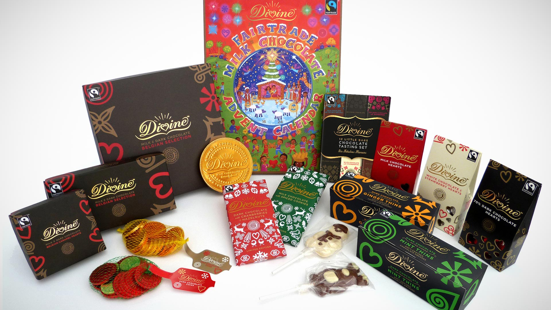 Divine's Fairtrade advent calendar