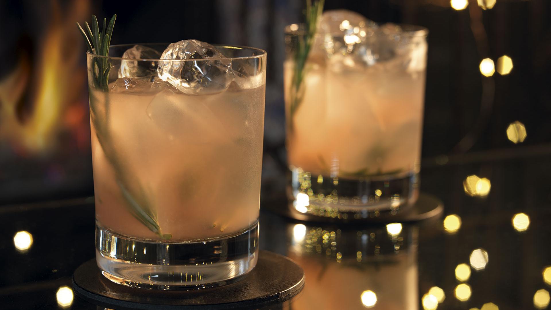 Grey Goose fireside cocktail