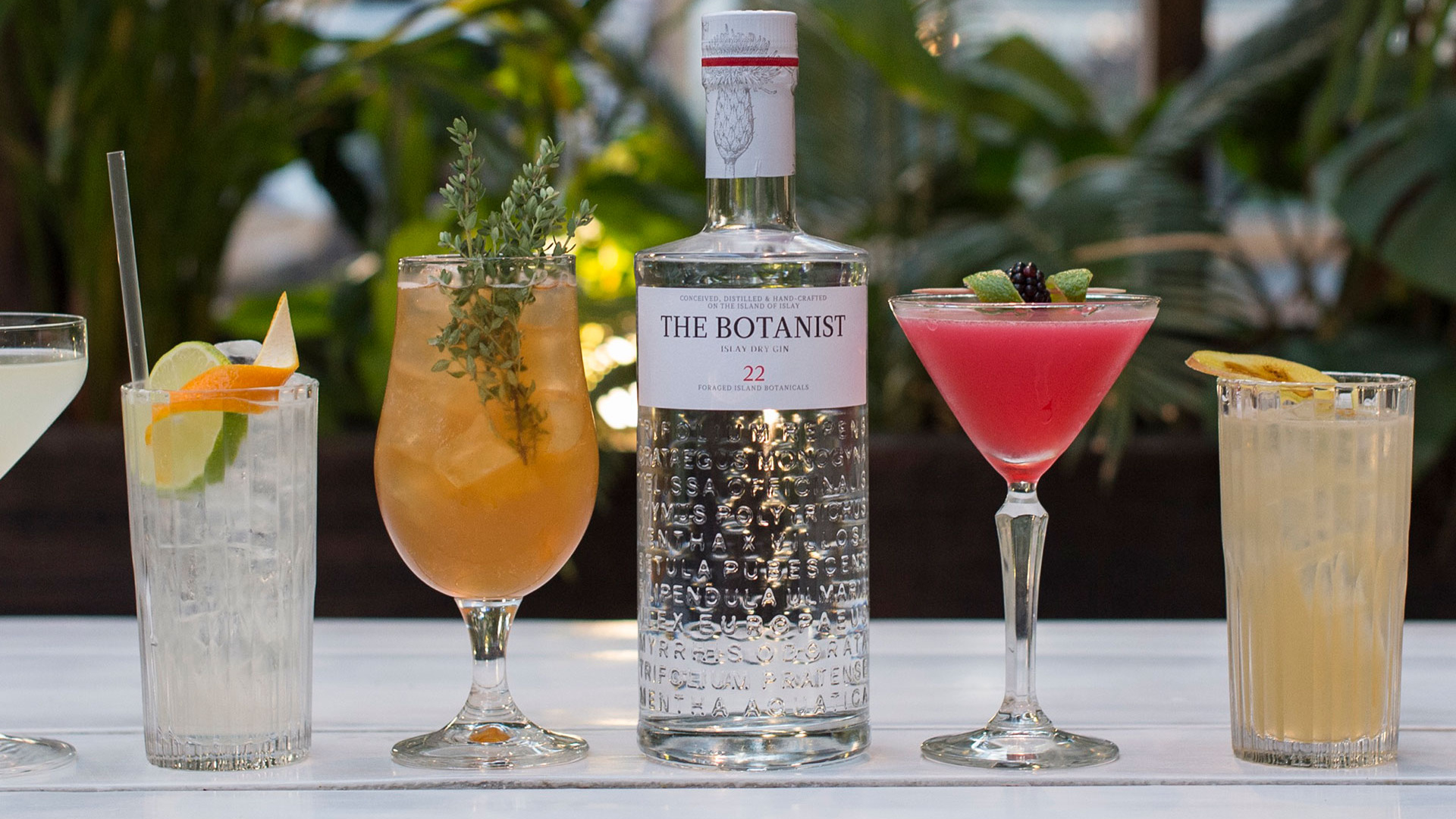 Make Blixen's The Vermillion Botanist cocktail