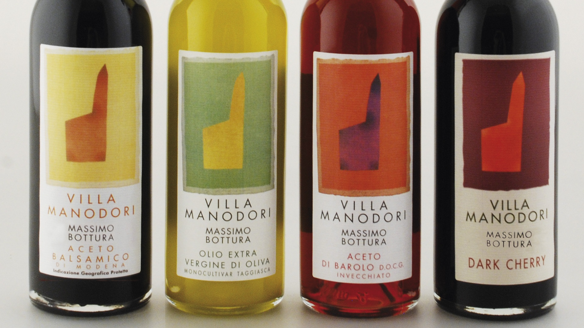 Massimo Bottura's range of oils and vinegars at Harvey Nichols