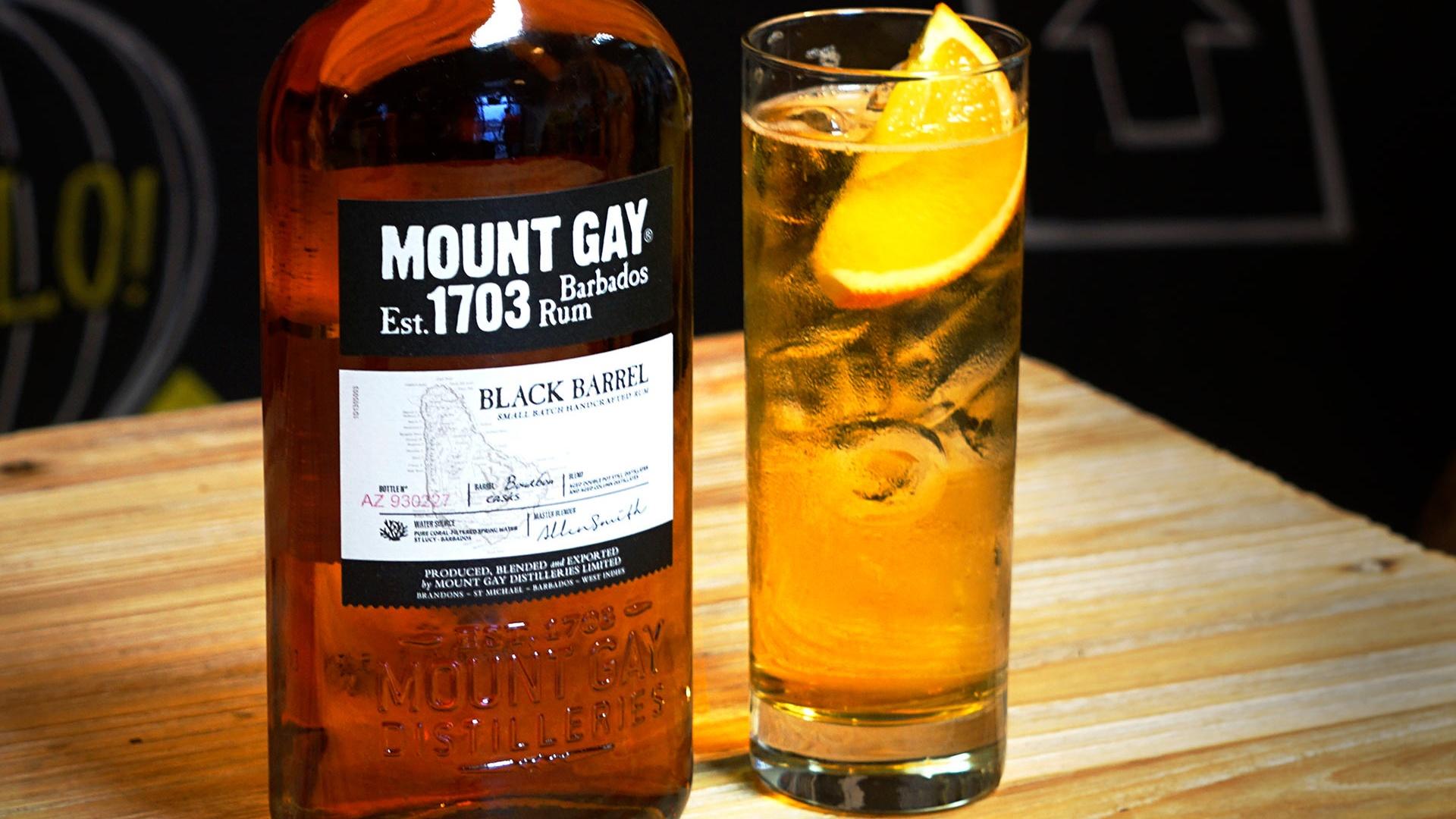 Mount Gay Black Barrell