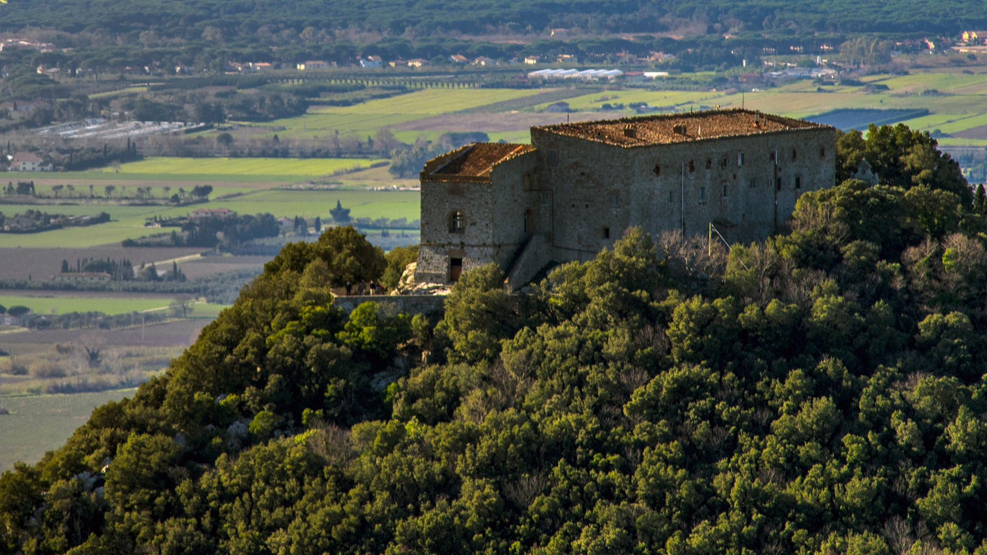 The Tentu San Guido estate in Tuscany