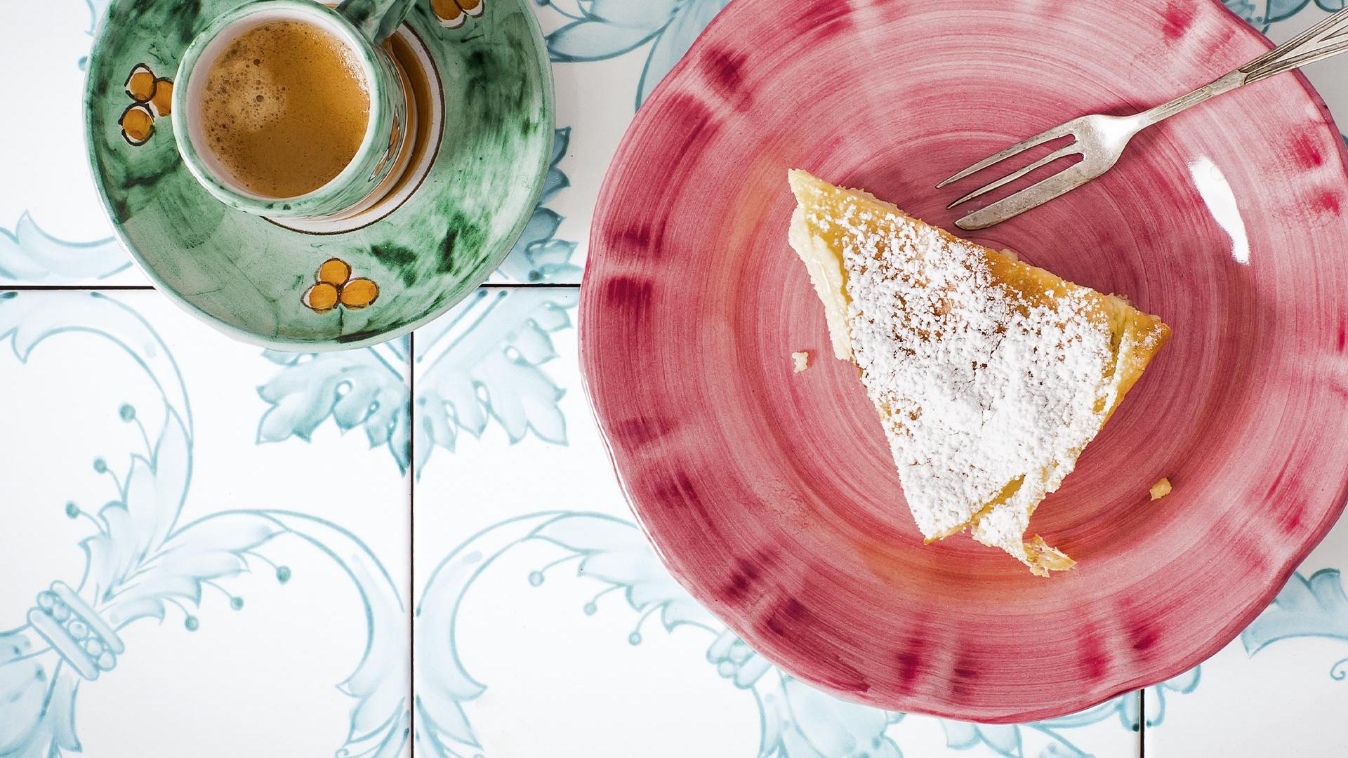A recipe for semolina cake from The Silver Spoon; photography Simon Bajada