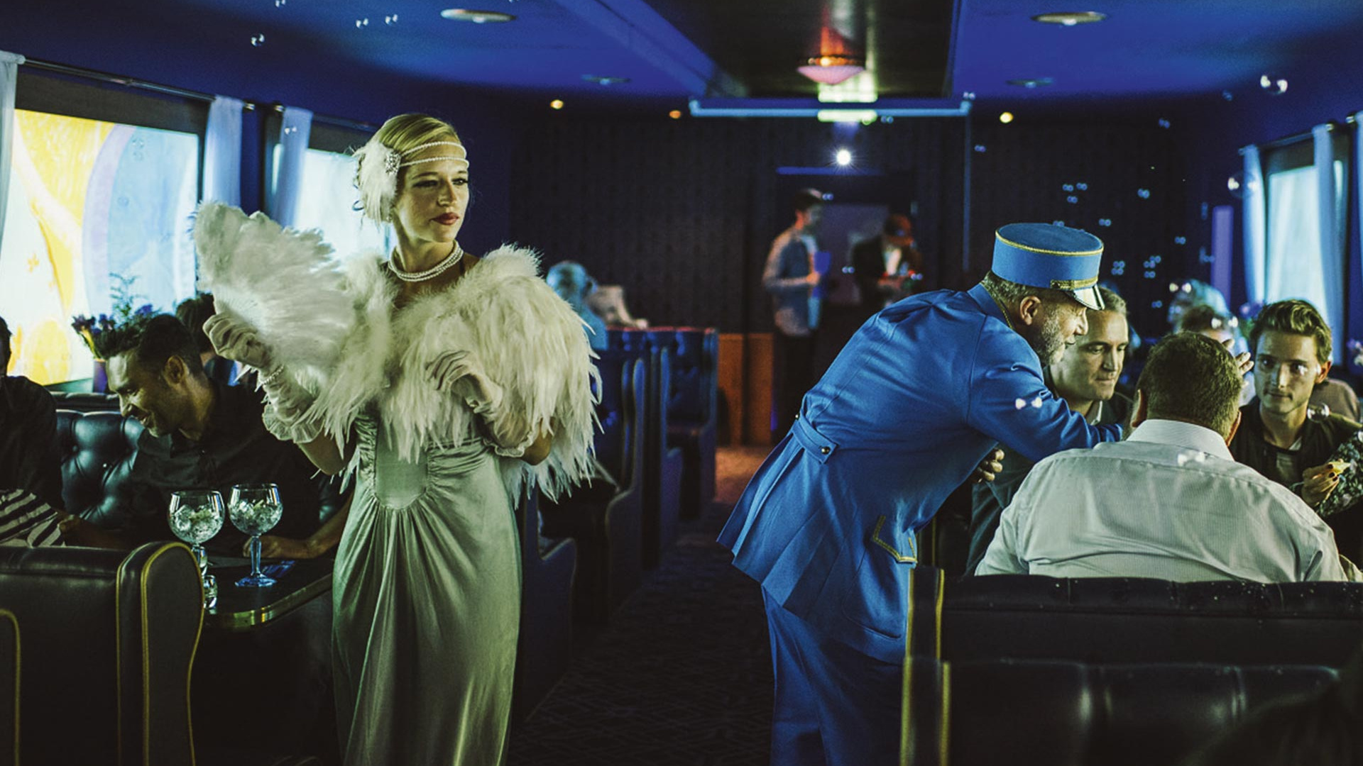 The Grand Journey with Bombay Sapphire