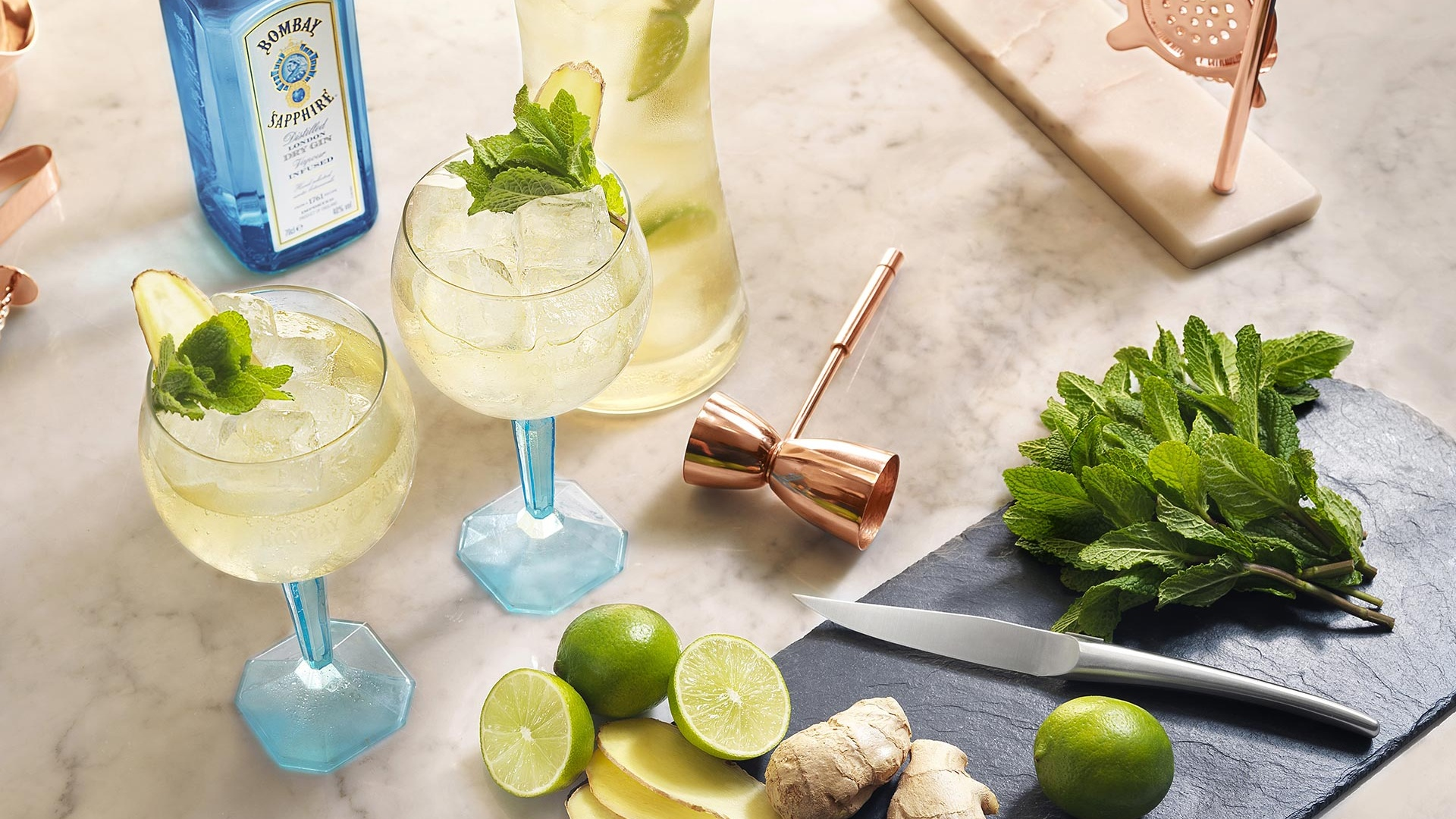 Bombay Sapphire's Laverstoke cocktail