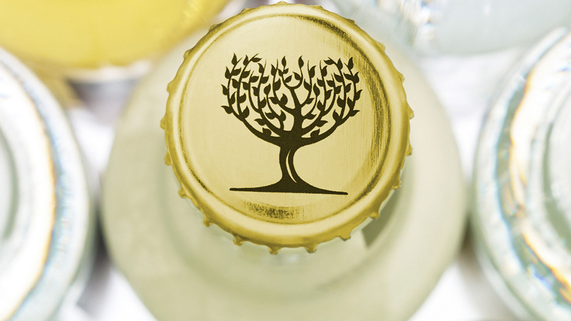 The cap of one of Fever-Tree's mixers