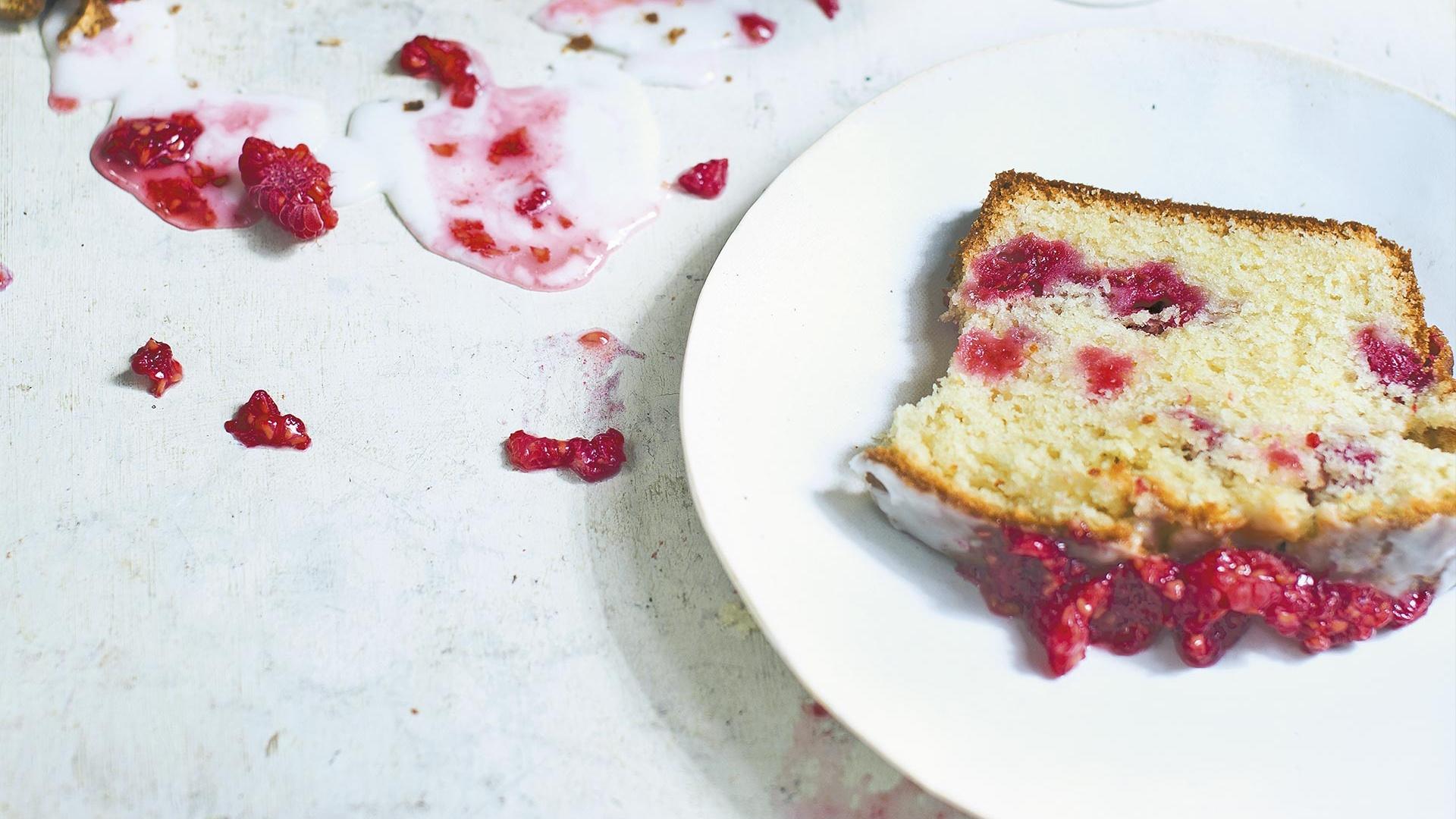 Make Diana Henry's raspberry yoghurt cake