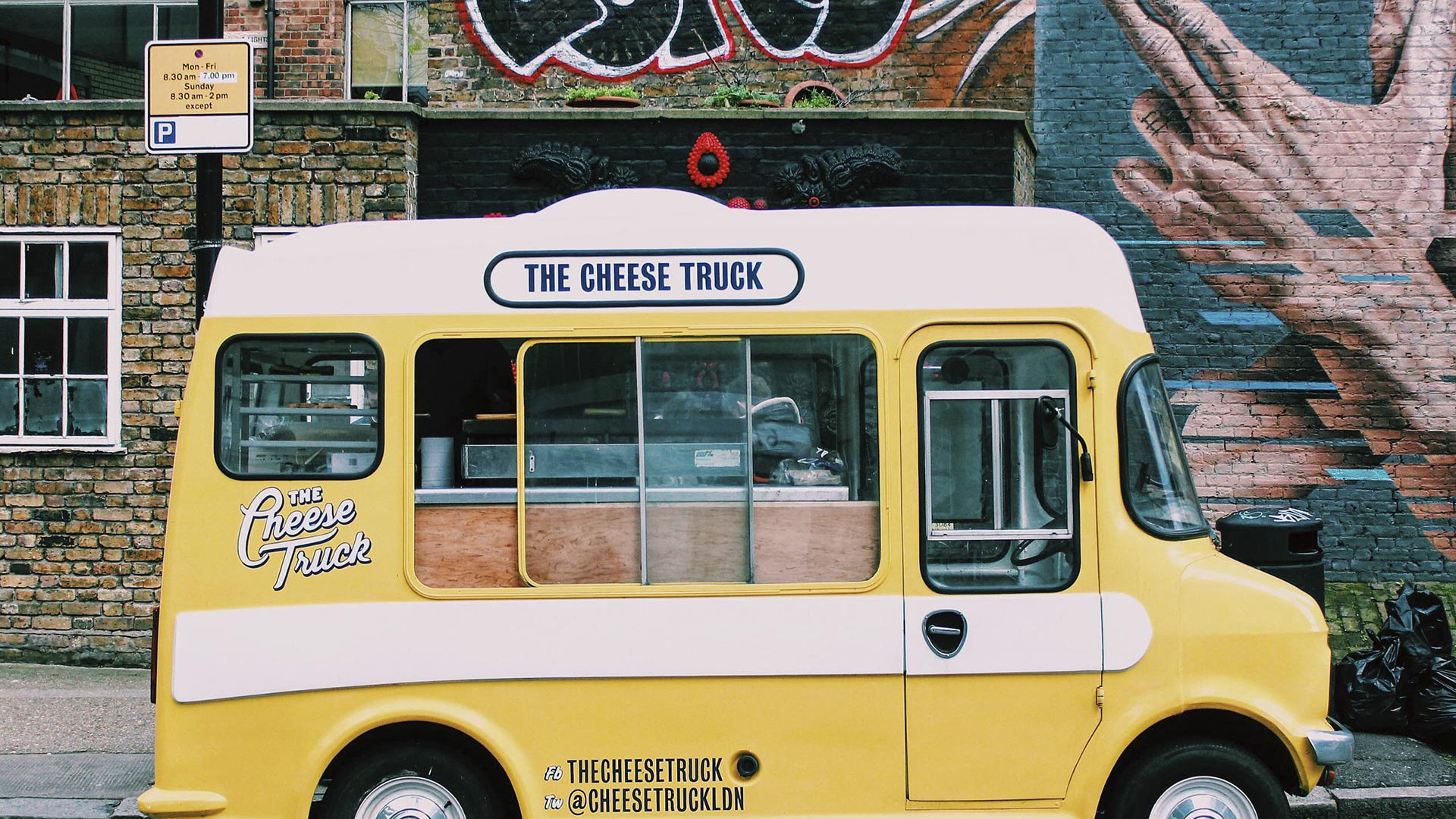 The Cheese Shed started out as a travelling street food truck