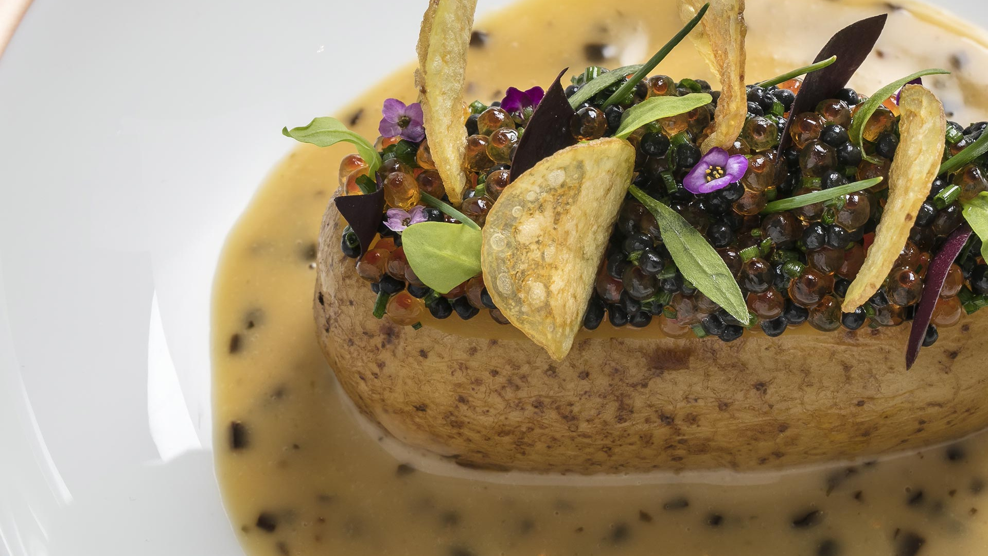 A dish from Core, Clare Smyth's new restaurant