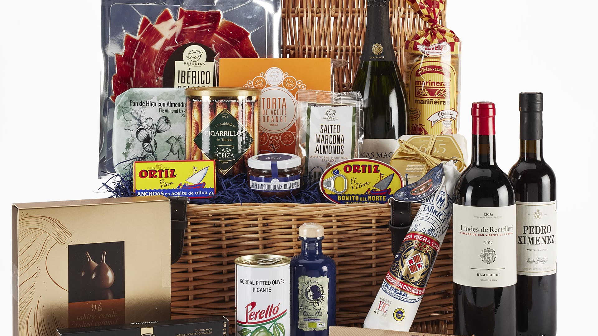 Win the ultimate fine food hamper from Brindisa