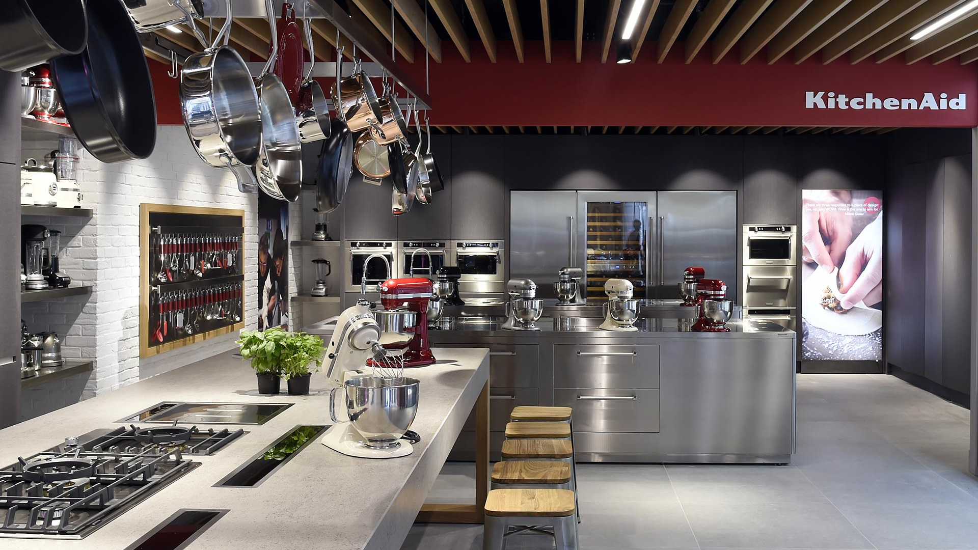 Win a KitchenAid fridge and a cooking class for two