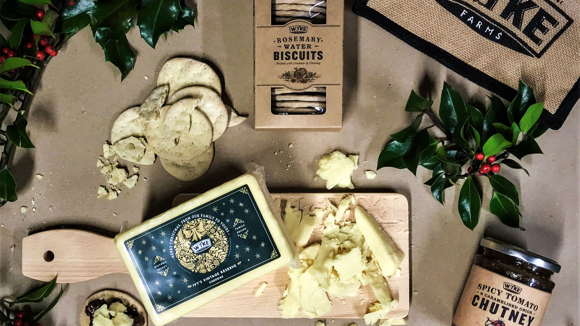 Win a one of five Cheddar hampers from Wyke Farms