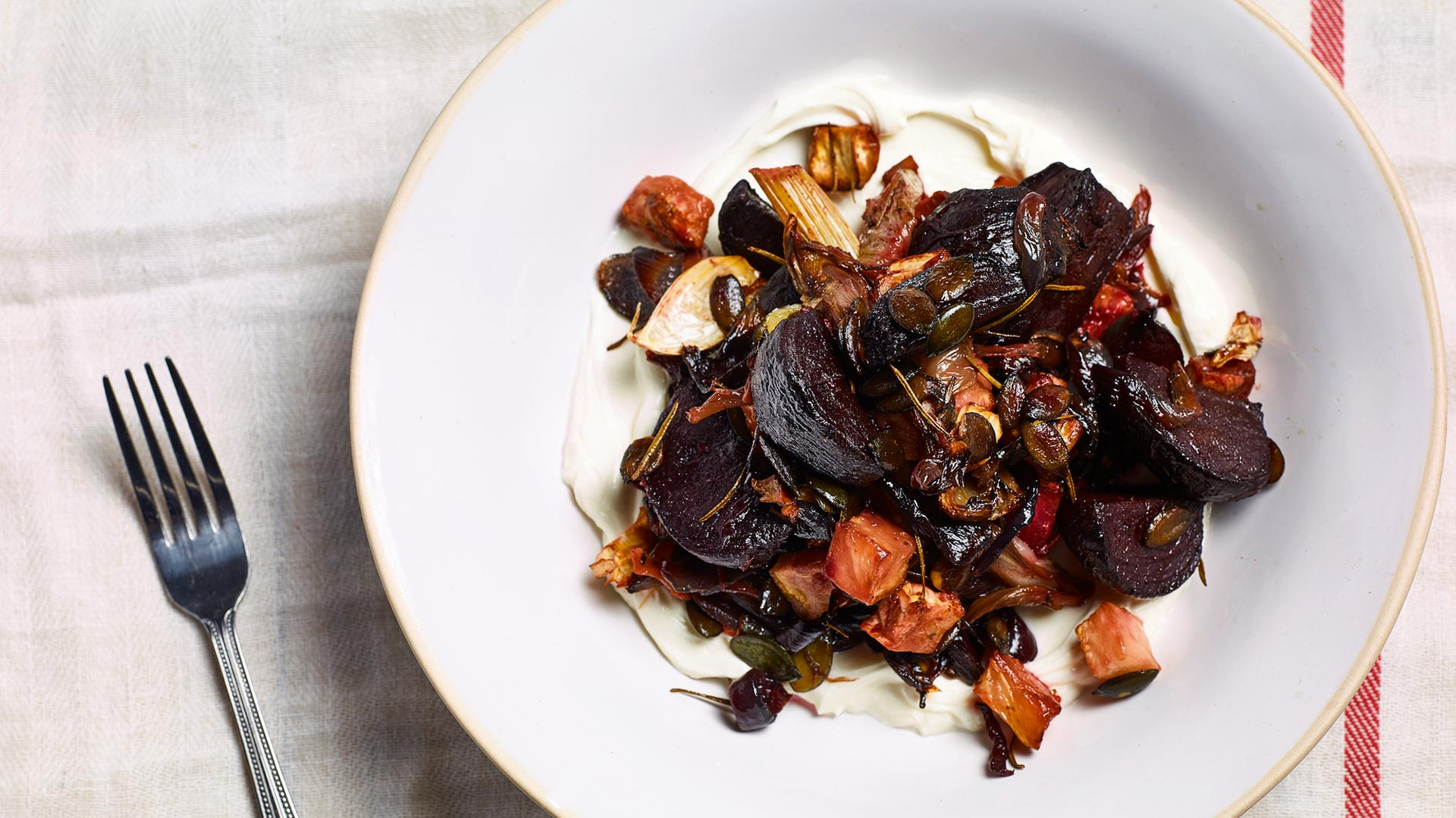 Make Gill Meller's roasted roots; Photograph by Chris Terry