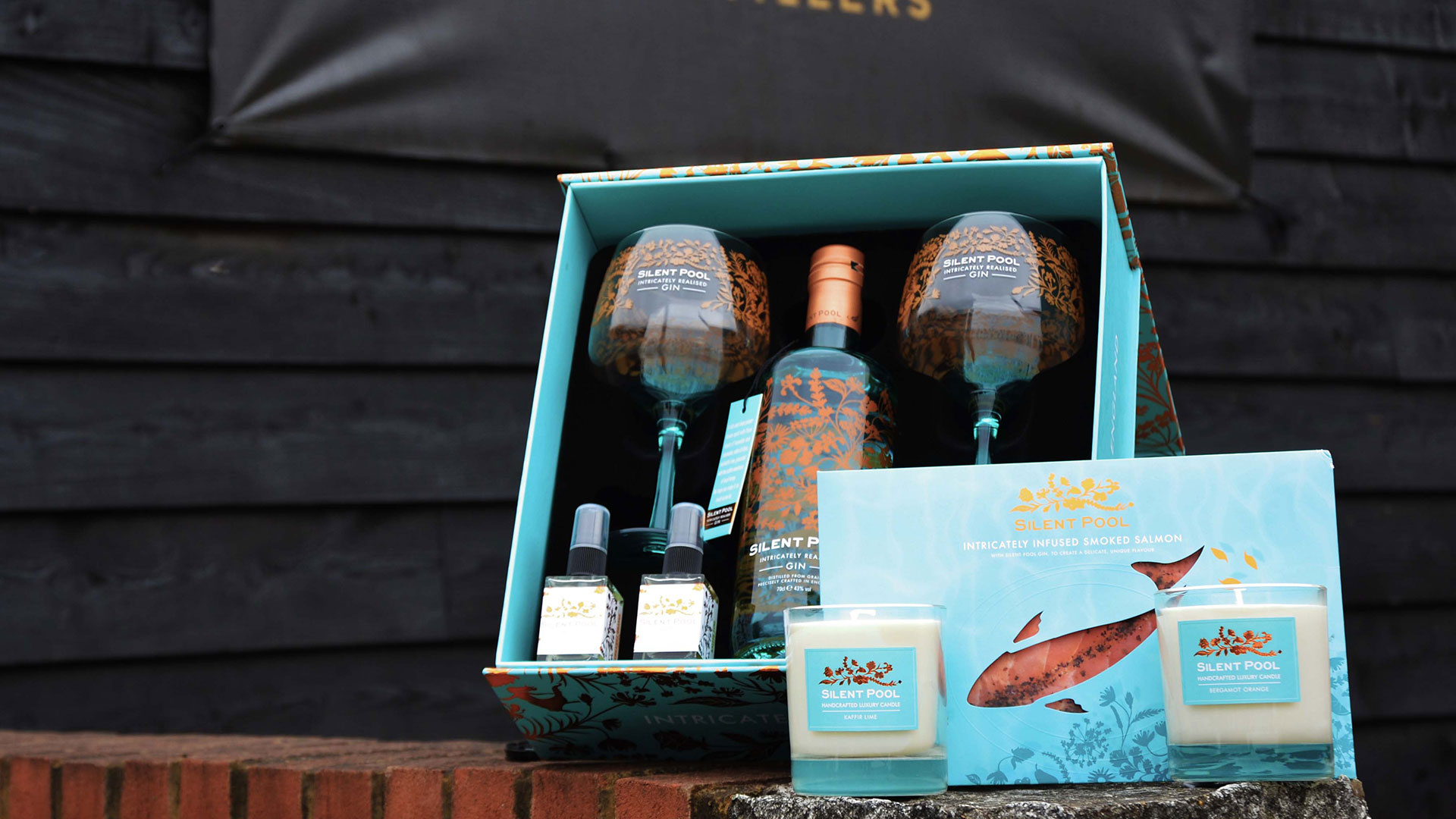Silent Pool gin-lover's hamper