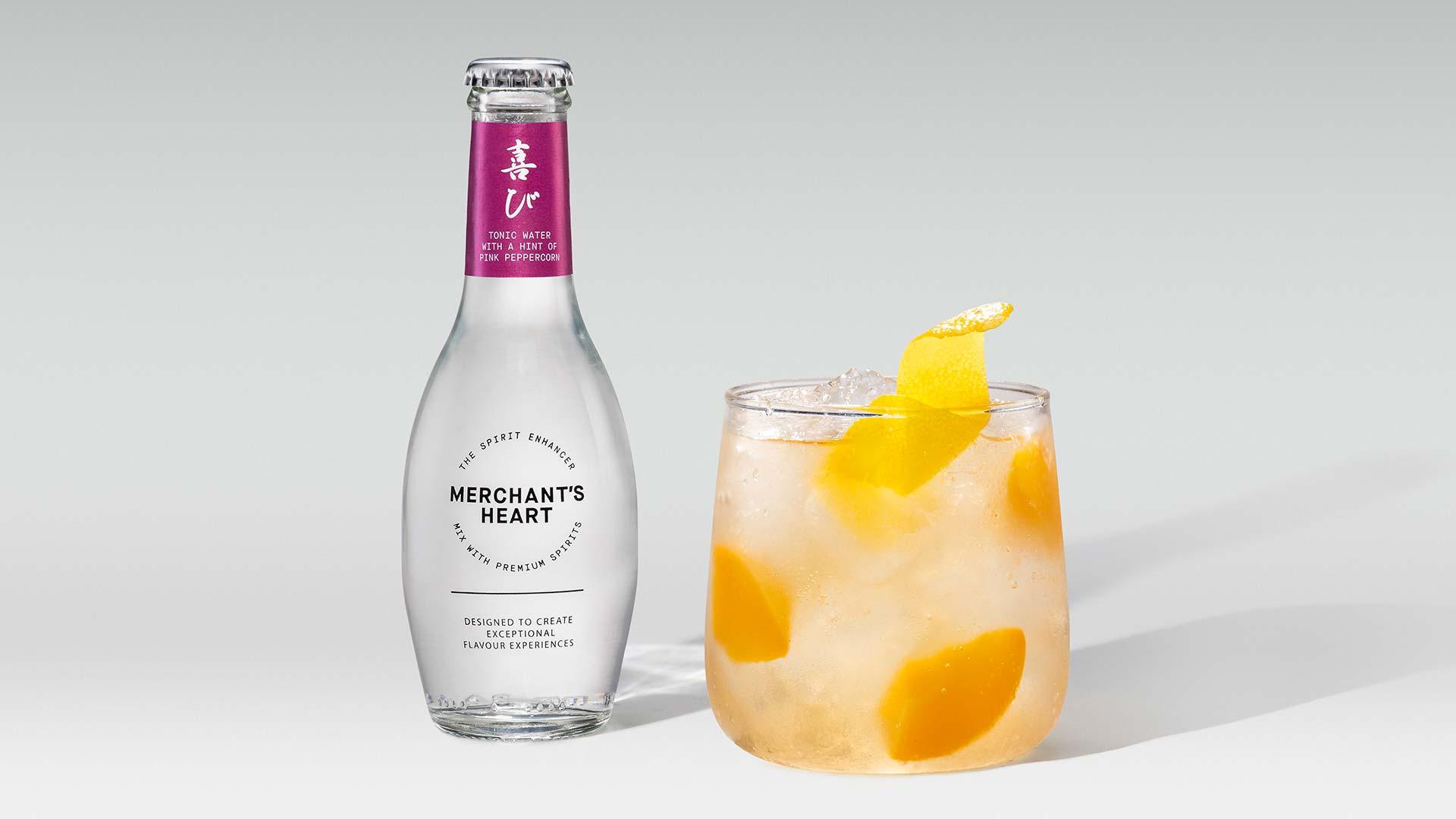 Merchant's Heart's bourbon and pink peppercorn cocktail