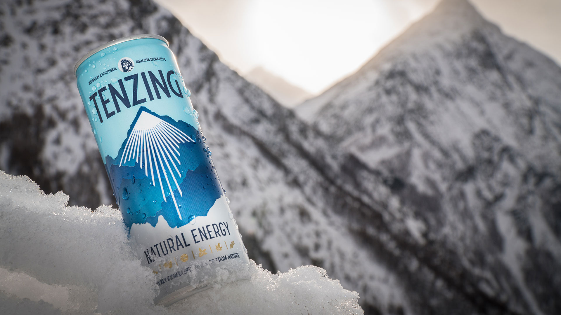 Tenzing's natural energy drink