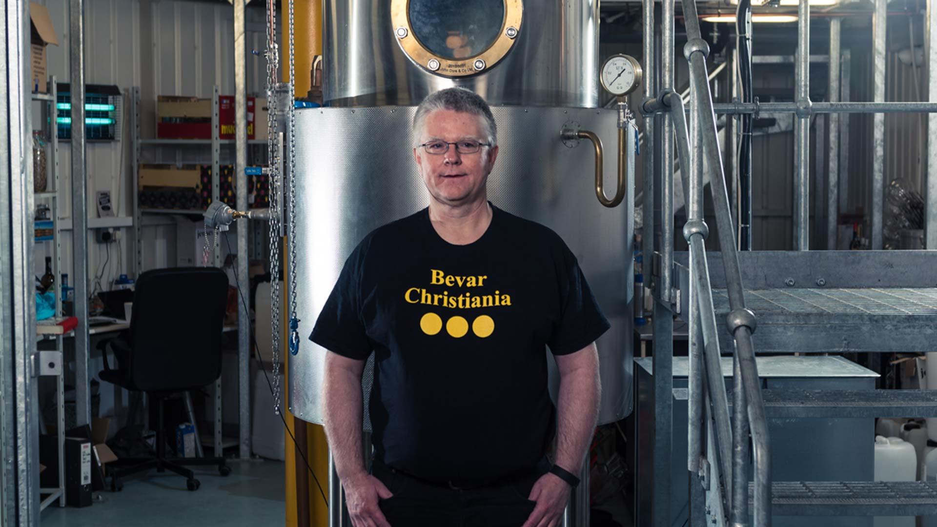 Christian Jensen founder of Jensen's gin