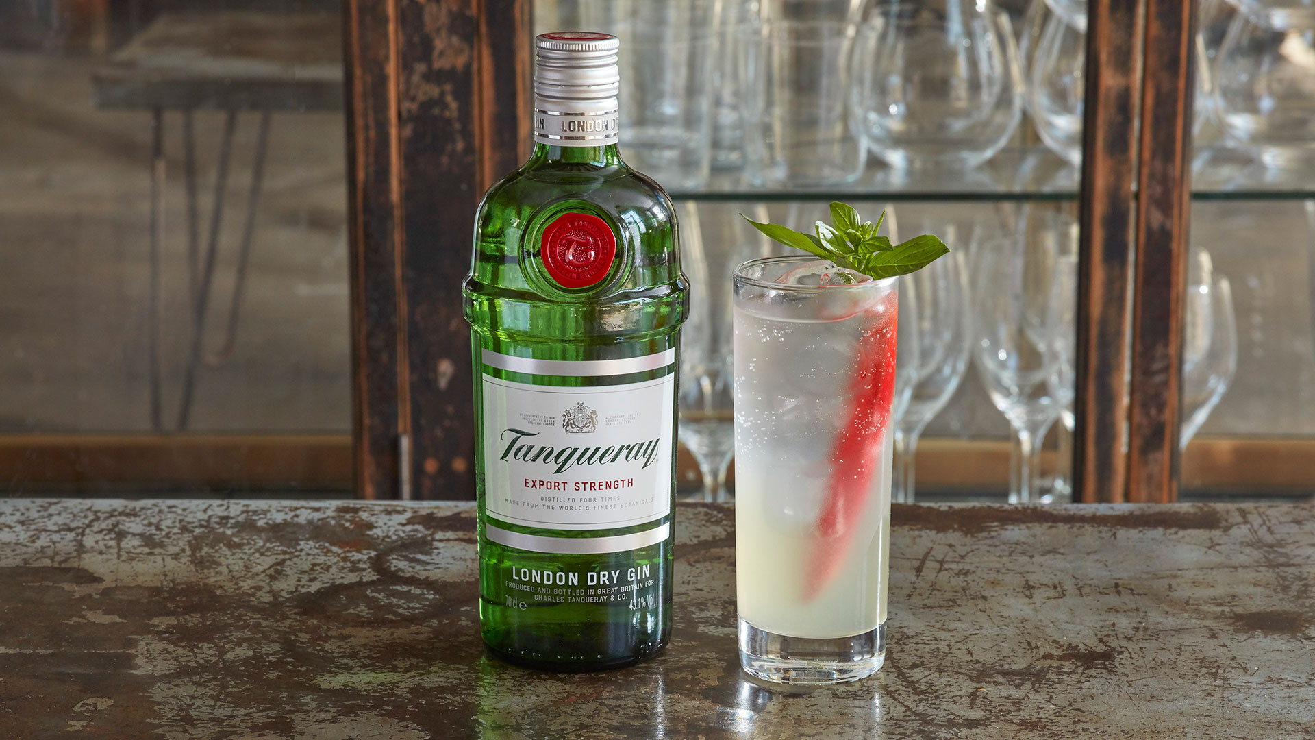 Tanqueray Gin's Mexican Collins