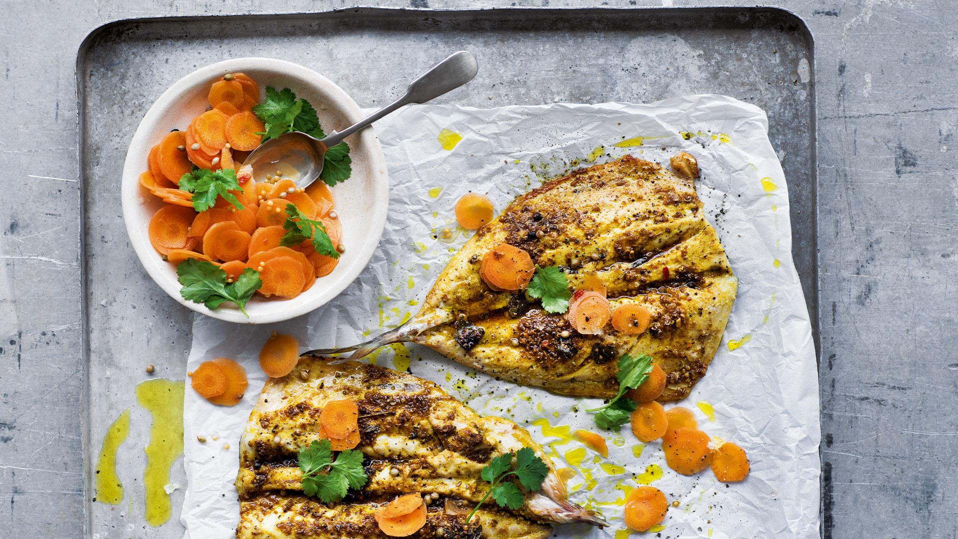 Borough Market's spiced mackerel