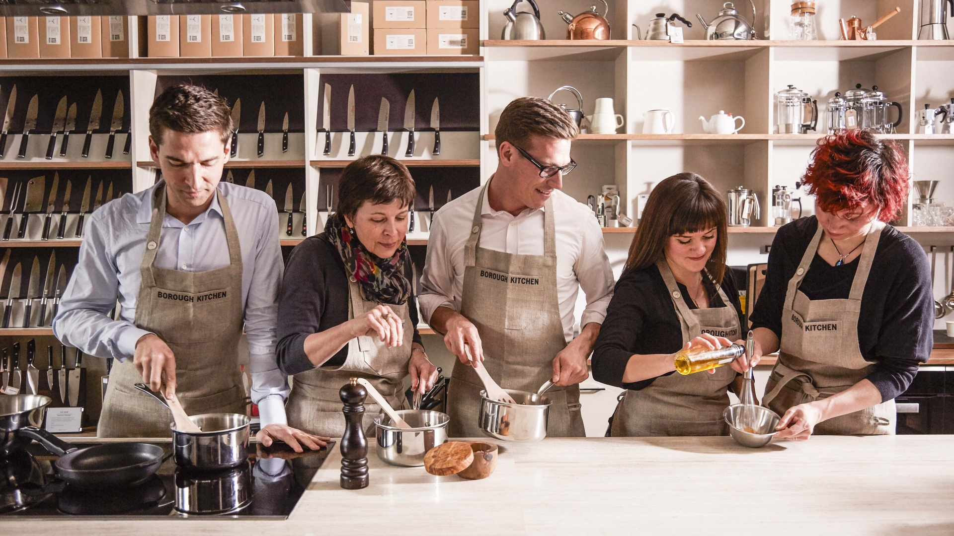 Best cookery classes in London: Borough Kitchen Cook School, Hampstead