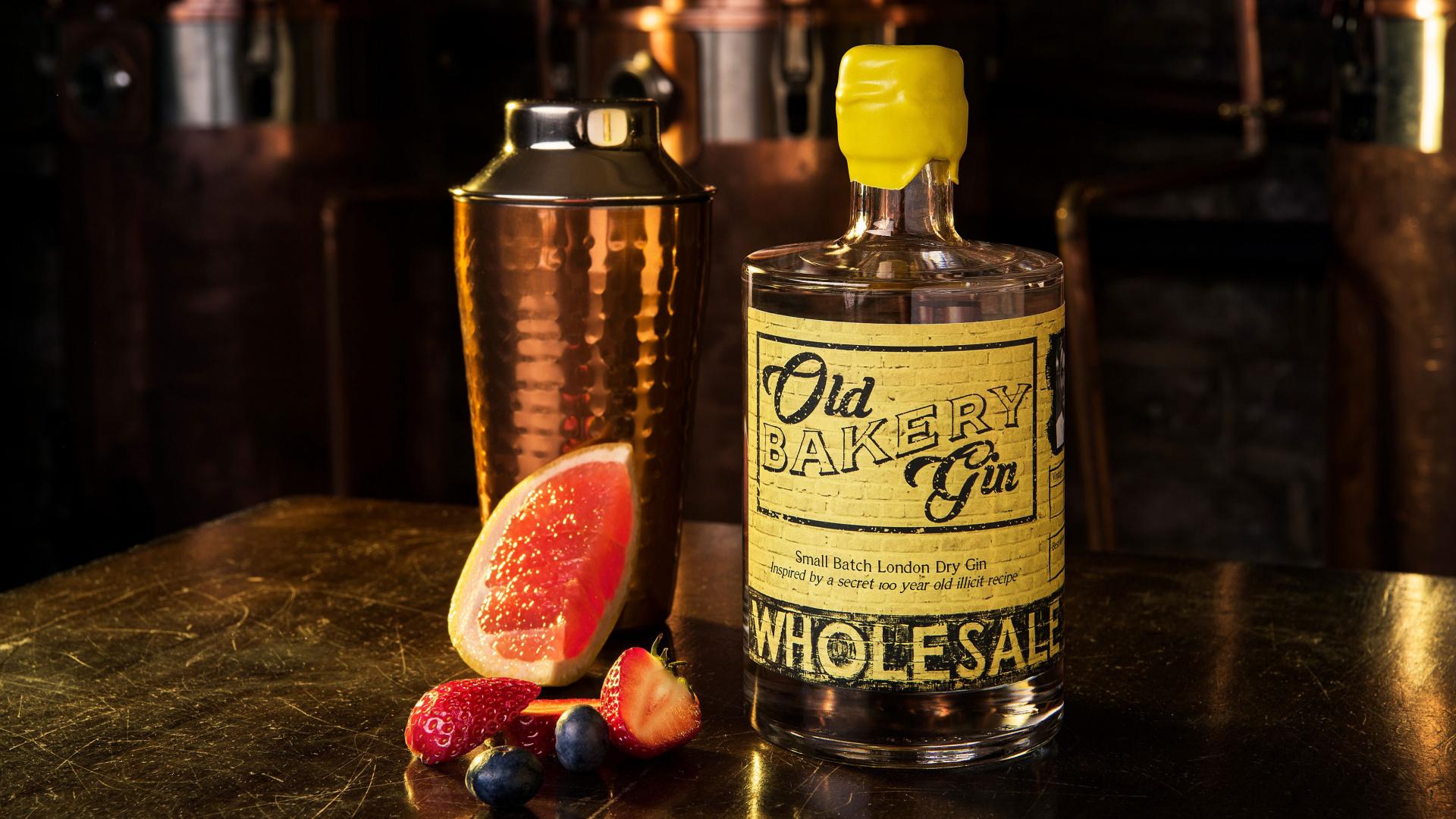 Old Bakery Gin's Black Pepper Gin
