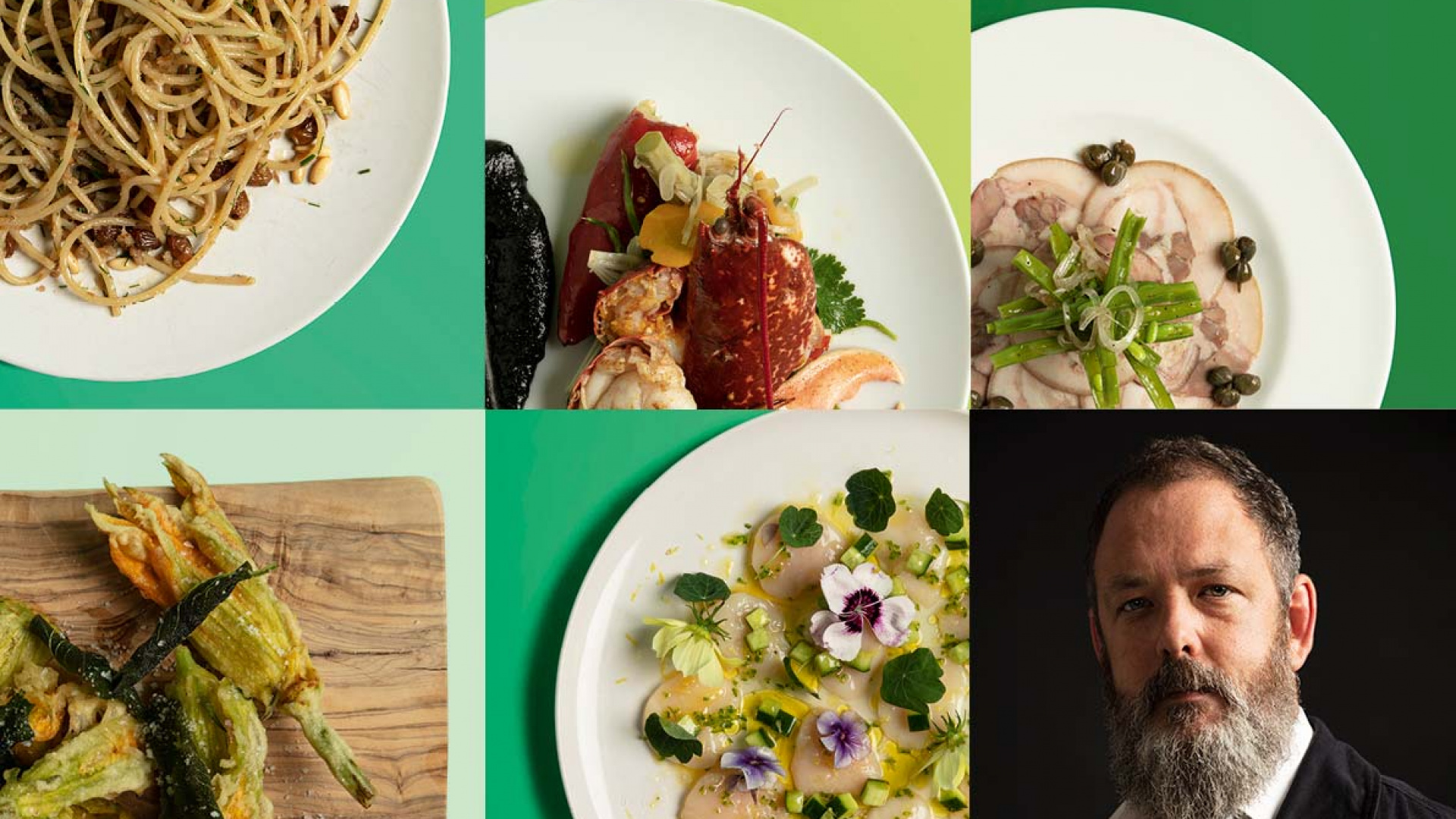 Damian Clisby's career defining dishes