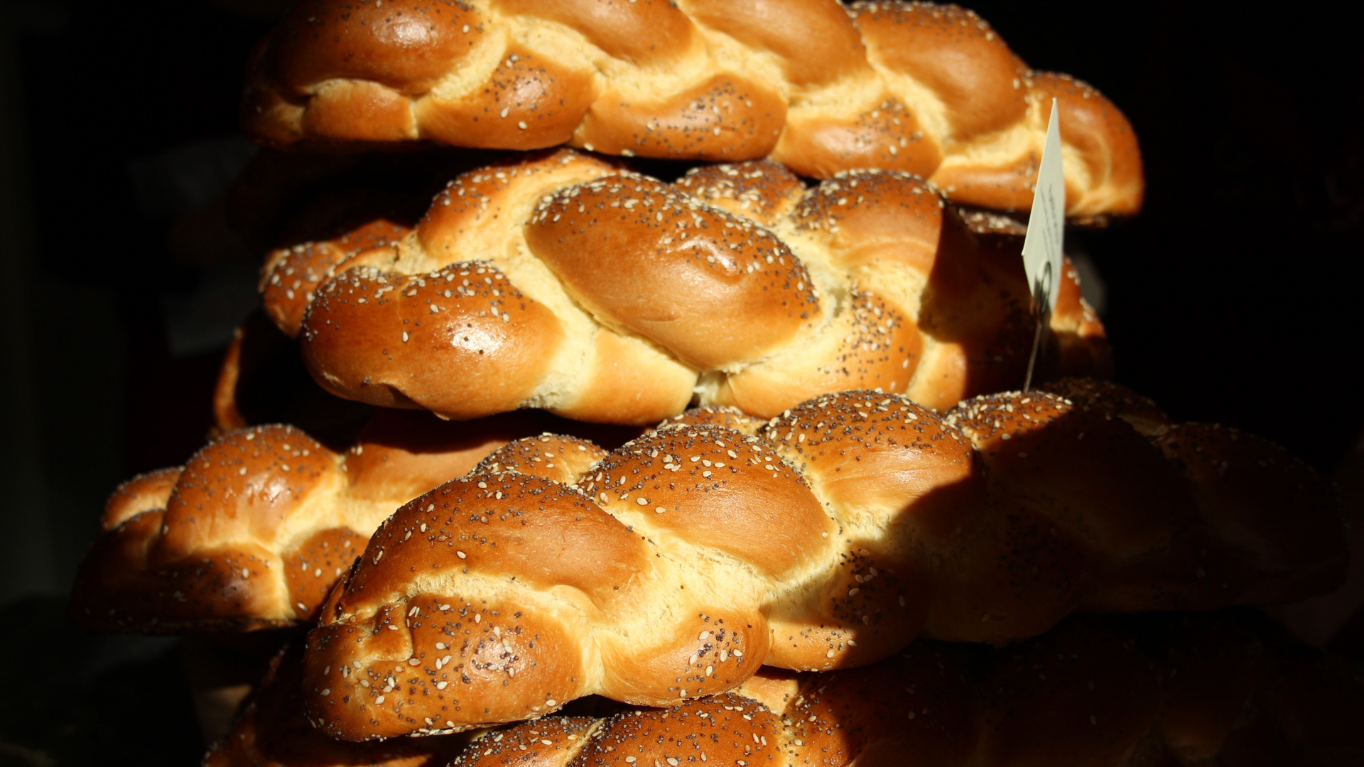 Challah bread from GAIL's Bakery