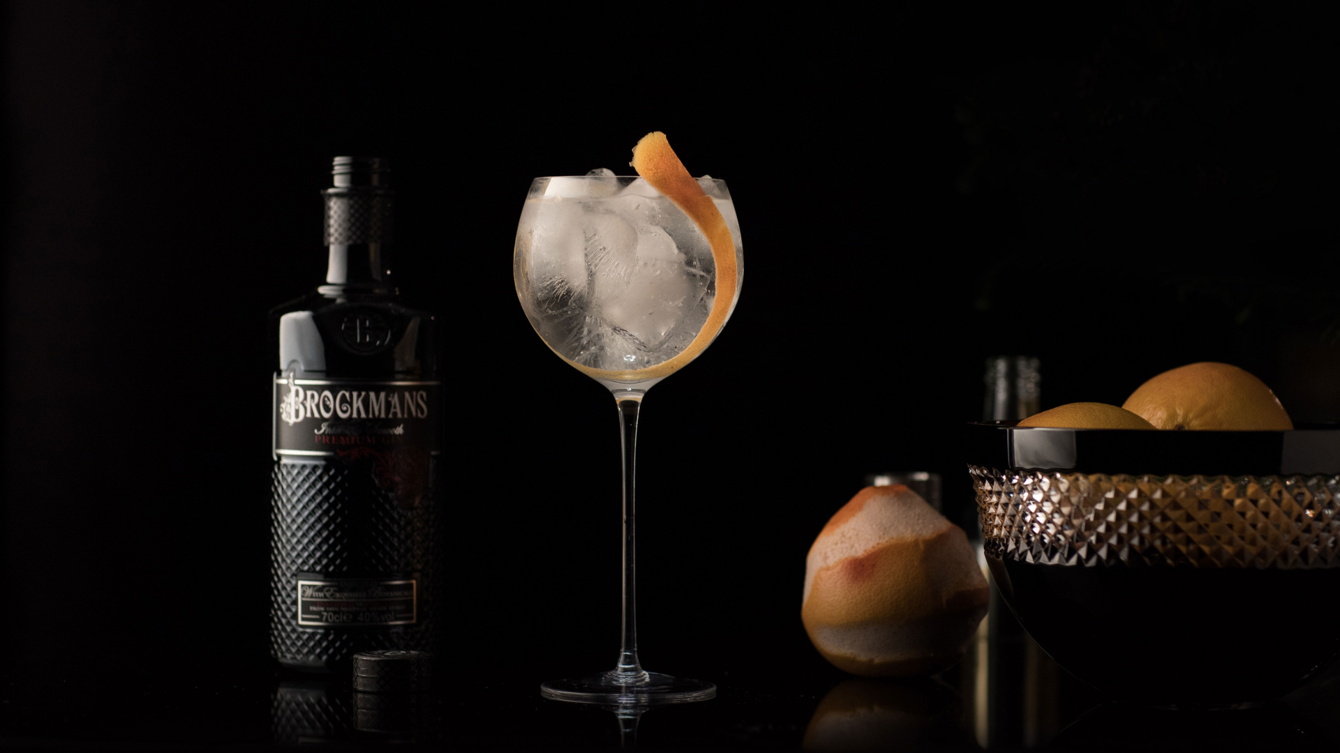 Win a year's supply of Brockmans Gin