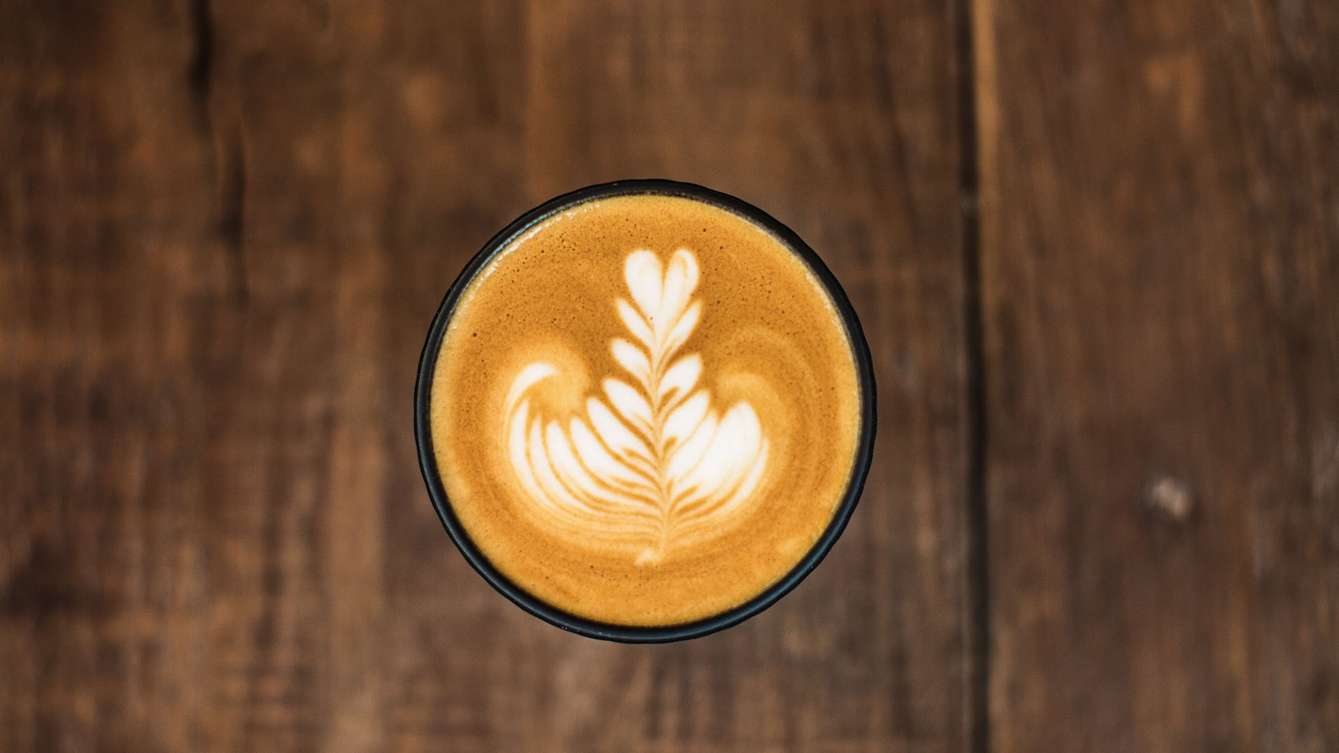 Best coffees in London: a cappuccino at Caravan