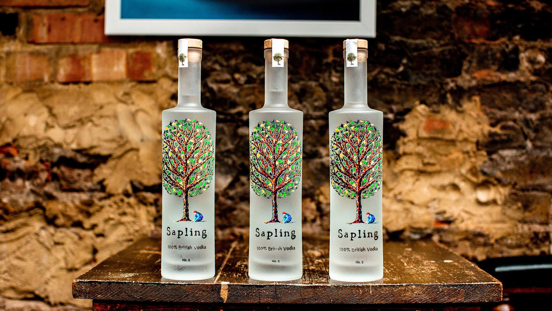 Win a case of Sapling Vodka worth £160
