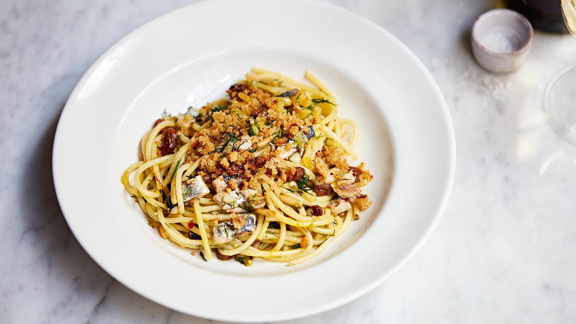 Bocca Di Lupo's new Sicily menu