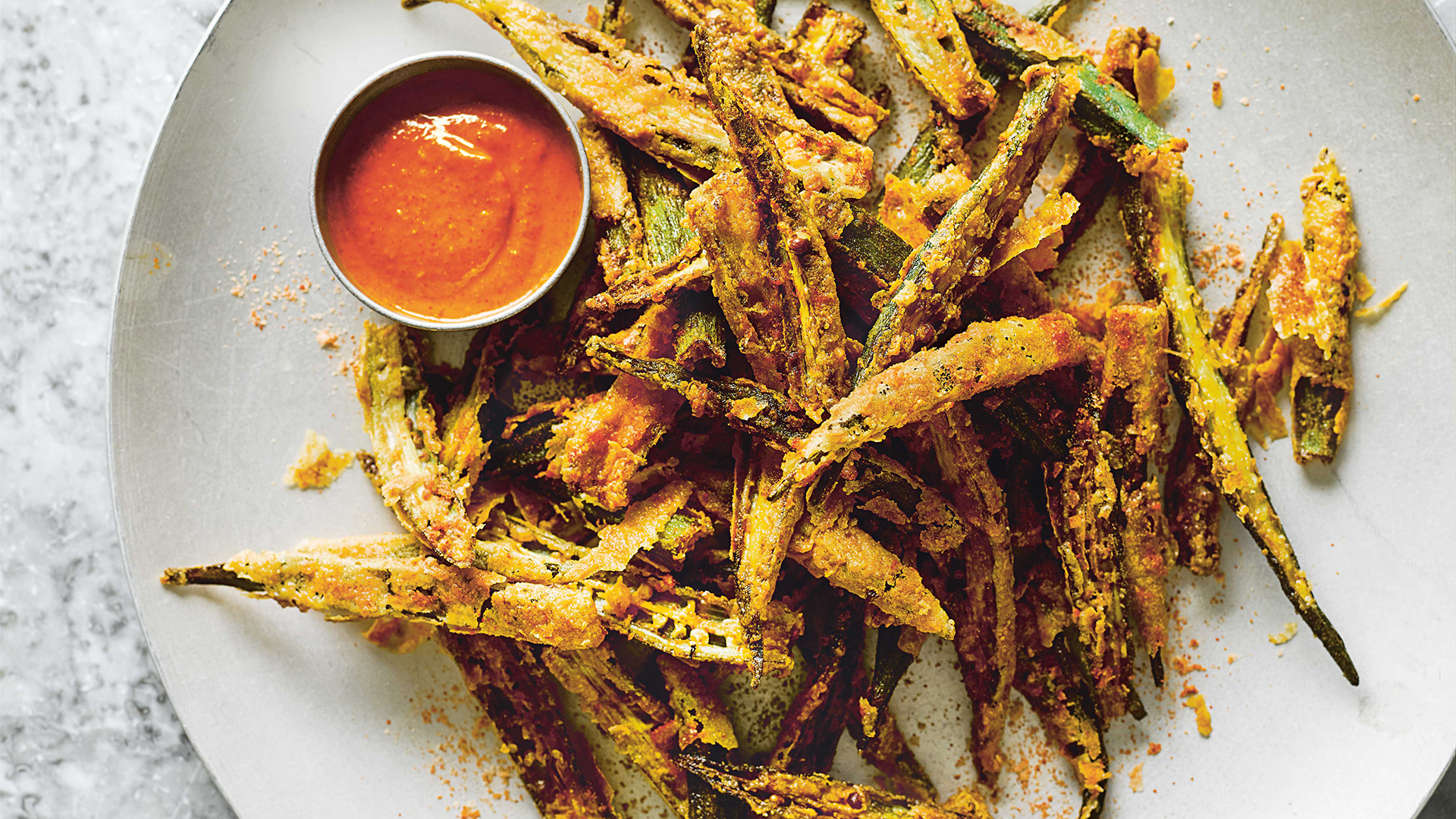 Make Dishoom's okra fries
