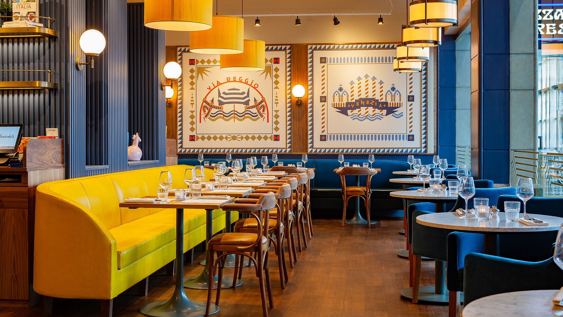 Win a three-course meal for two at Carluccio's