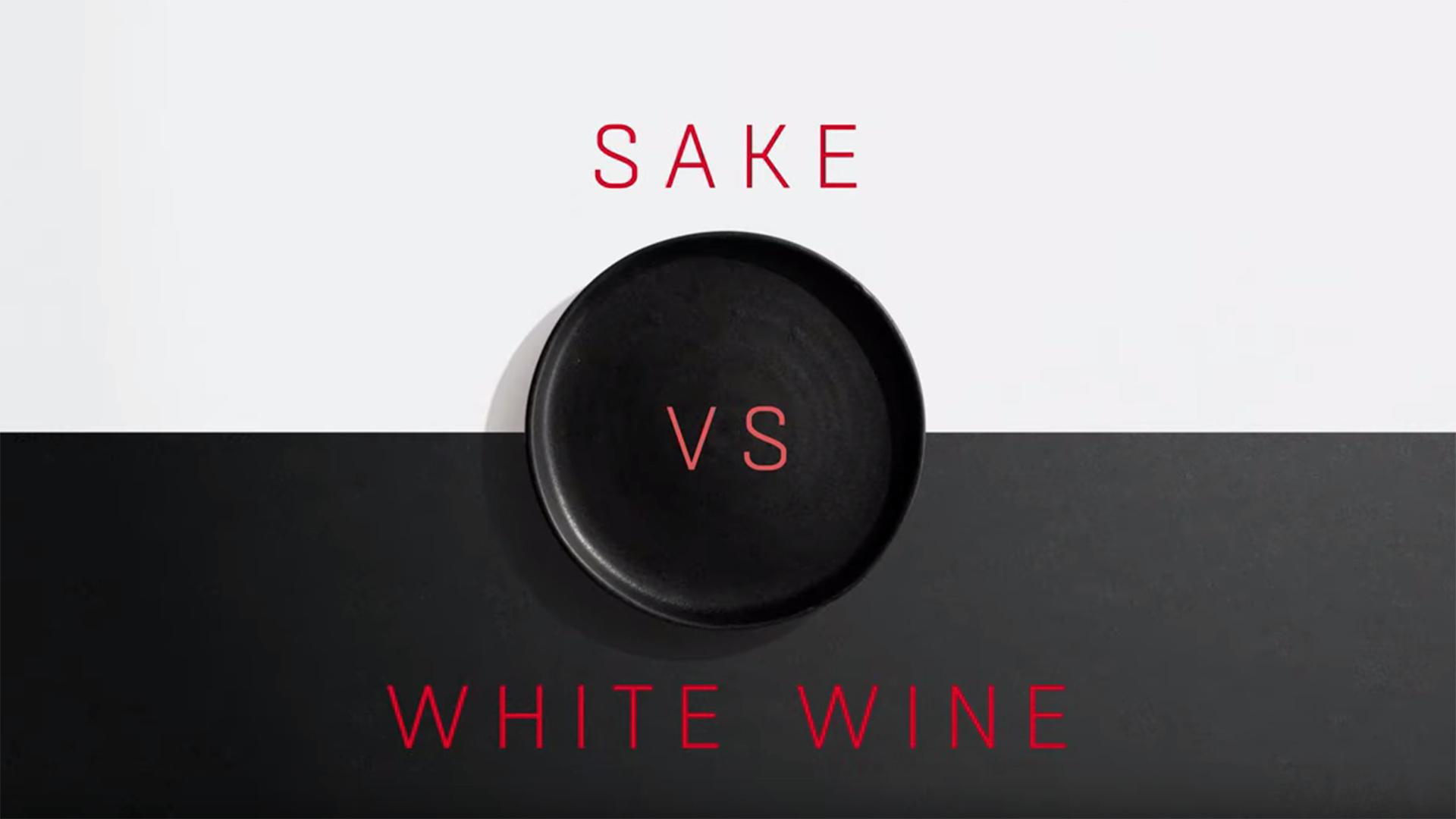 Sake vs white wine