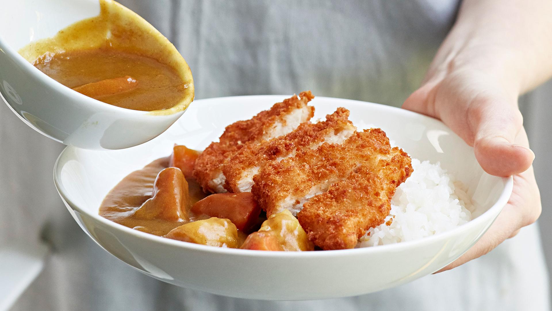 Make Shoryu's Japanese chicken katsu curry