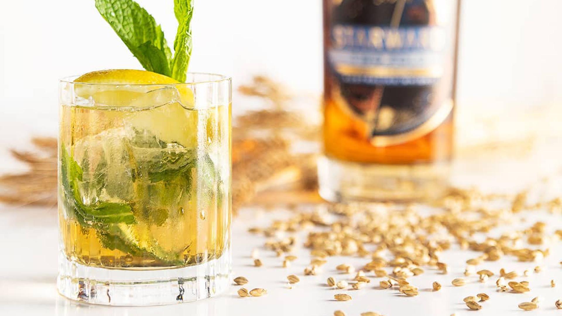 Make Starward Whisky's Orchard Spritz
