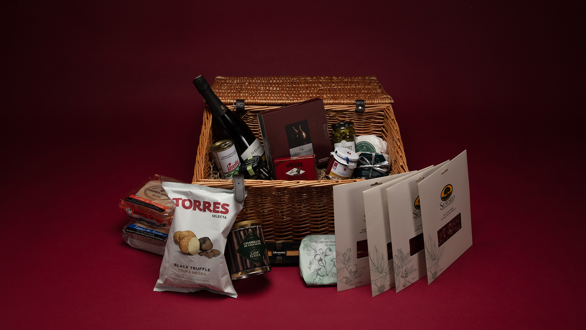 Christmas Hampers 2019: Brindisa Christmas Hamper