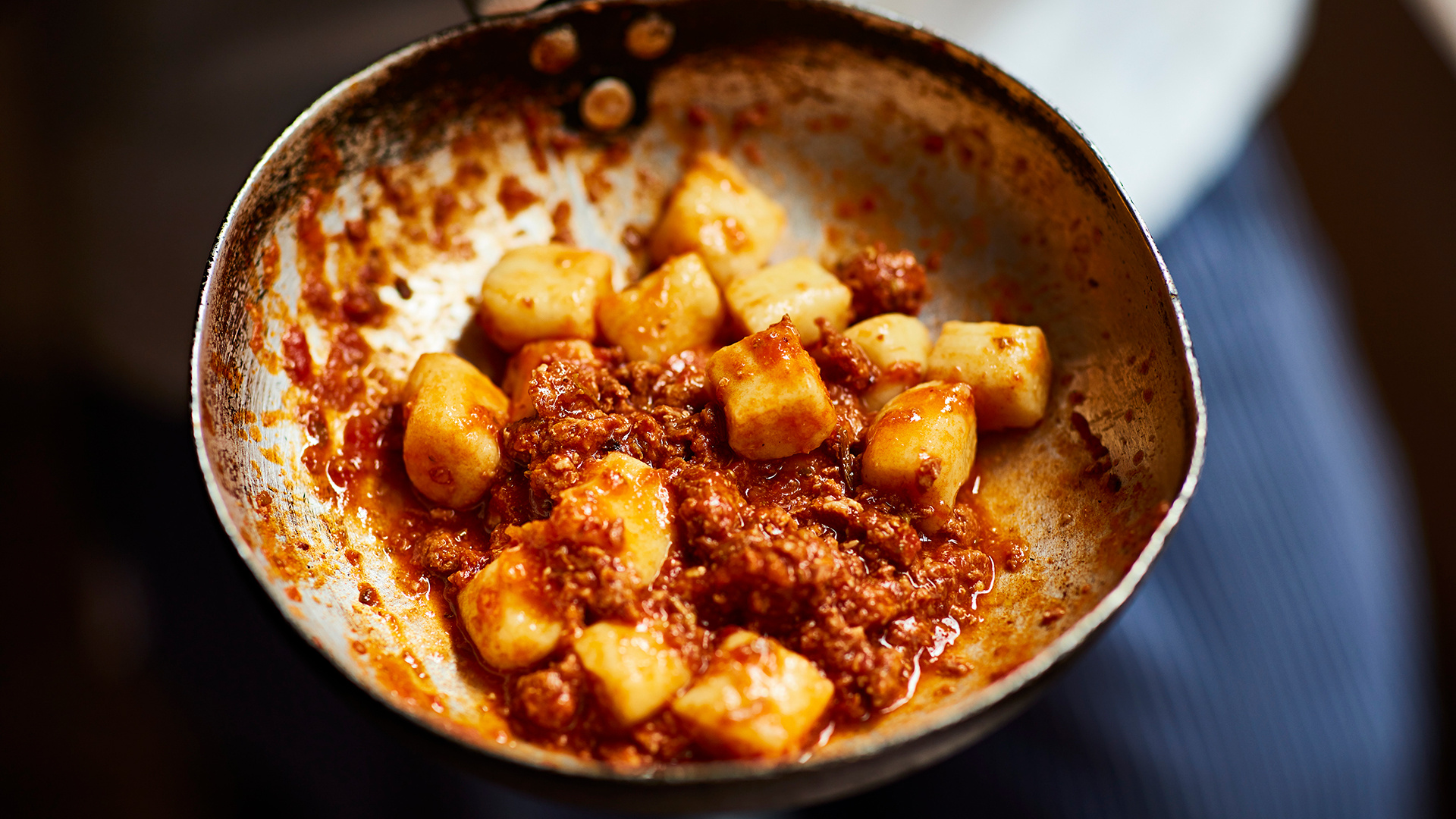 Best Regional Italian Restaurants in London: Gnocchi with sausage ragu at Bocca Di Lupo